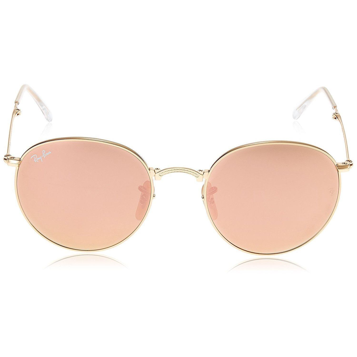 a406692325589 ... sunglass rb3447 3fae7 cbf68  coupon code shop ray ban rb3532 001 z2  round metal folding gold frame copper flash 50mm