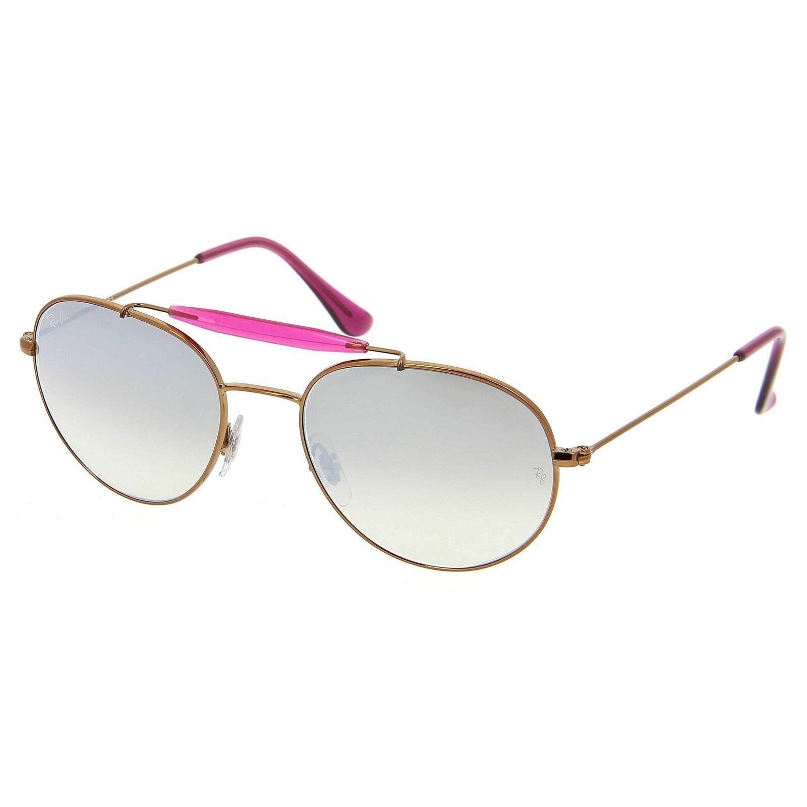 f1bdf052f6 Ray-Ban RB3540 198 9U Bronze Copper Frame Silver Gradient Flash 56mm Lens  Sunglasses