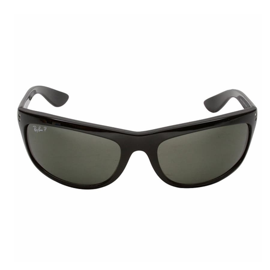 5c9b83018871c Shop Ray-Ban RB4089 601 58 Balorama Black Frame Polarized Green Classic  62mm Lens Sunglasses - Free Shipping Today - Overstock - 14329396