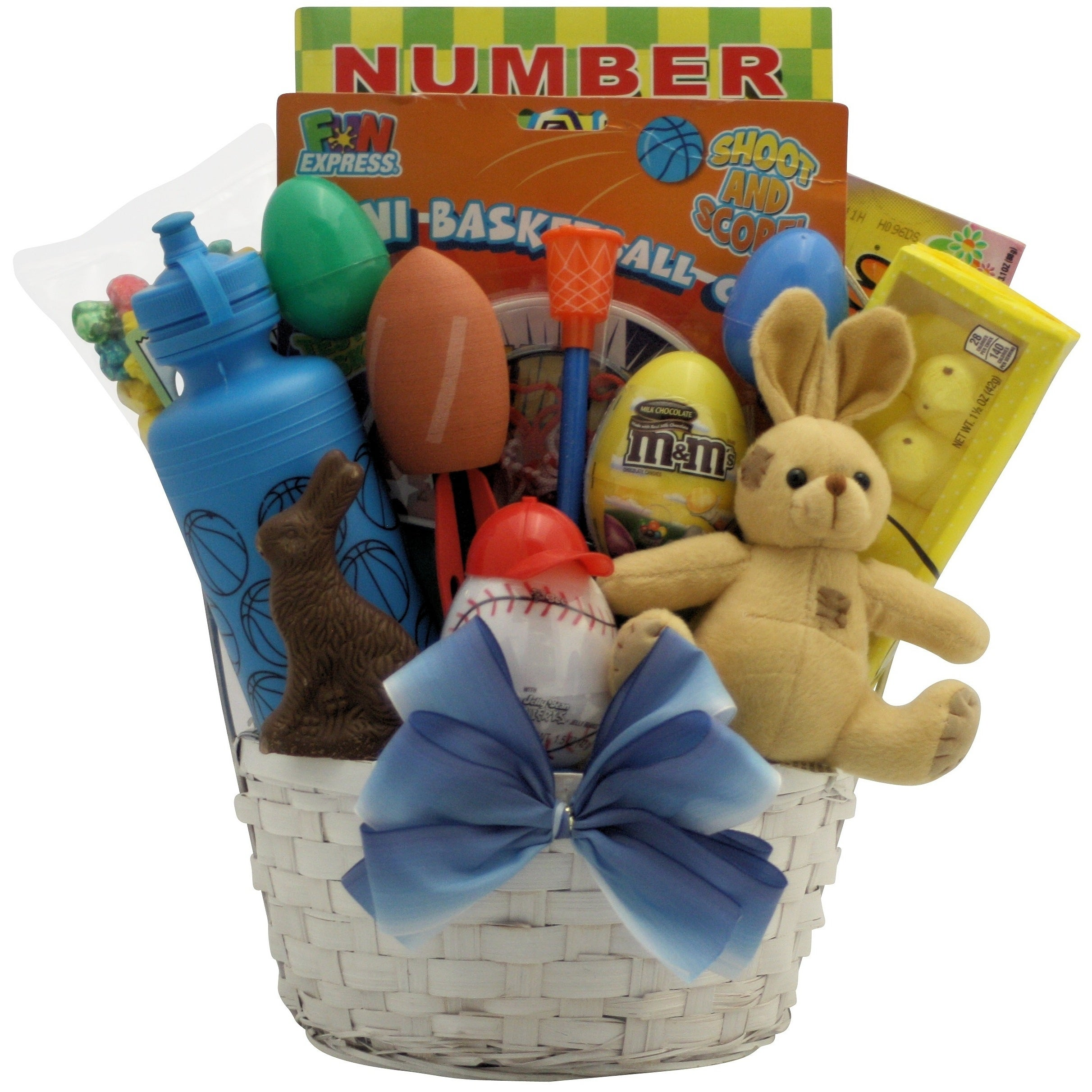 Shop Egg-streme Boyu0027s Sports Themed Easter Gift Basket - Free Shipping Today - Overstock - 14330764  sc 1 st  Overstock.com & Shop Egg-streme Boyu0027s Sports Themed Easter Gift Basket - Free ...