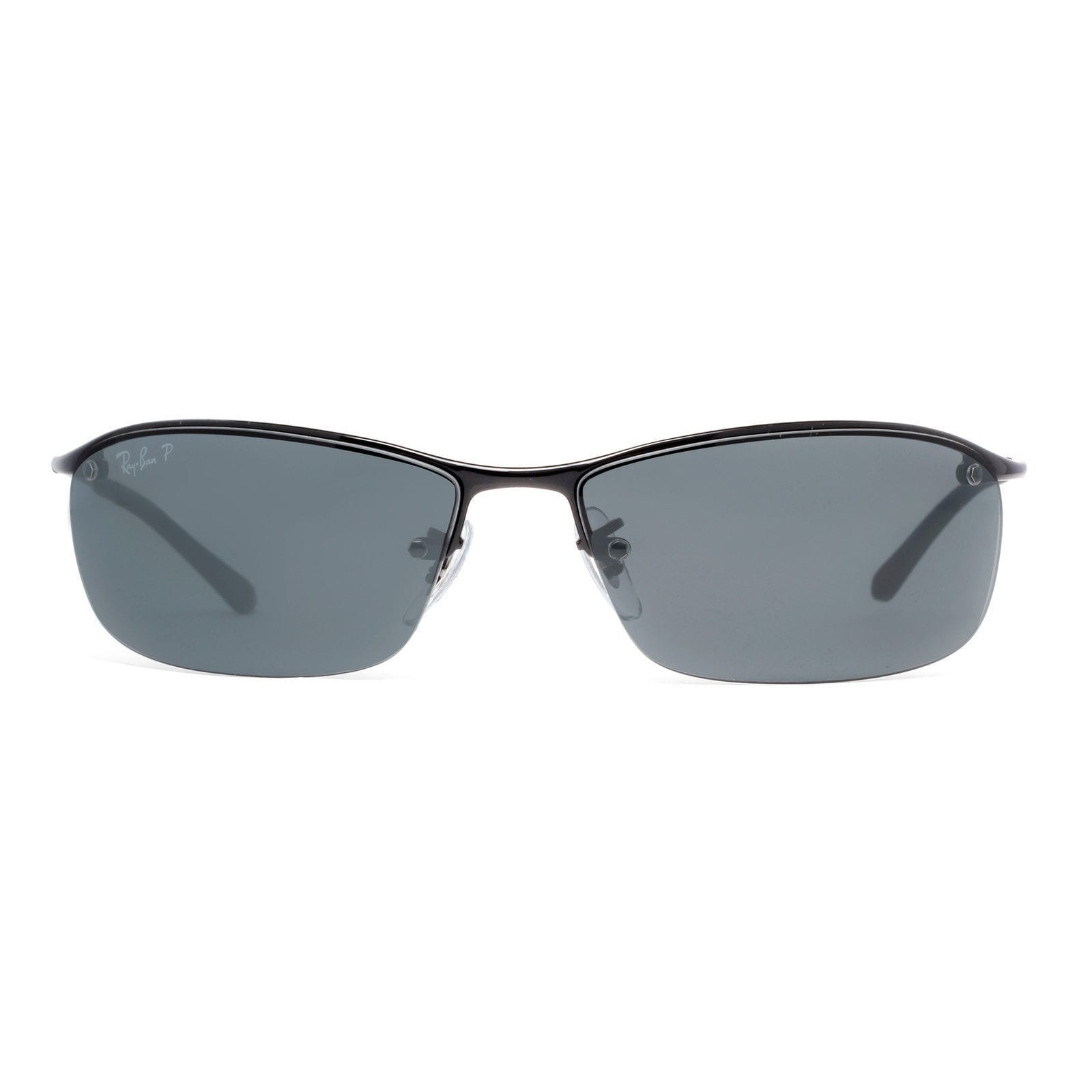 a35c3f8bb3ffd6 Shop Ray-Ban RB3183 002 81 Men s Black Frame Polarized Grey Gradient 63mm  Lens Sunglasses - Free Shipping Today - Overstock - 14331186