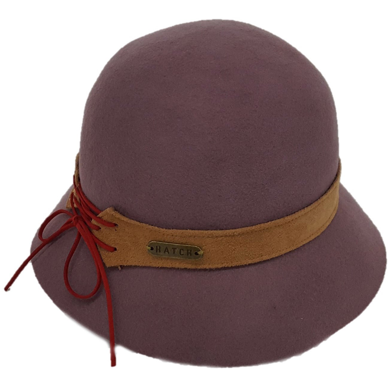 e6384603d90 Shop Hatch Laces Packable Wool Felt Cloche Hat - Free Shipping Today ...