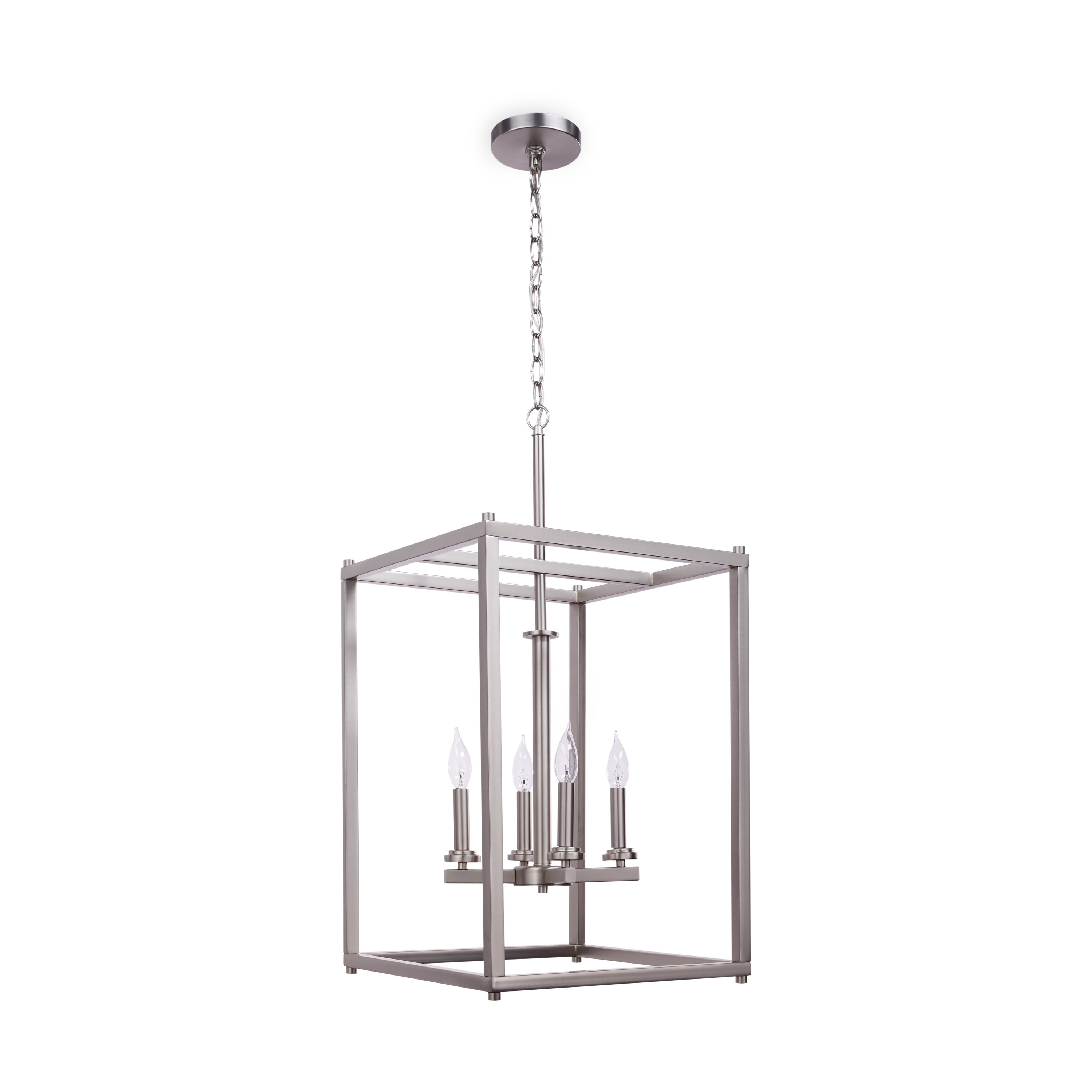 crosby collection large pendant light. Kichler Lighting Crosby Collection 4-light Brushed Nickel Foyer Pendant - Free Shipping Today Overstock 20912211 Large Light I