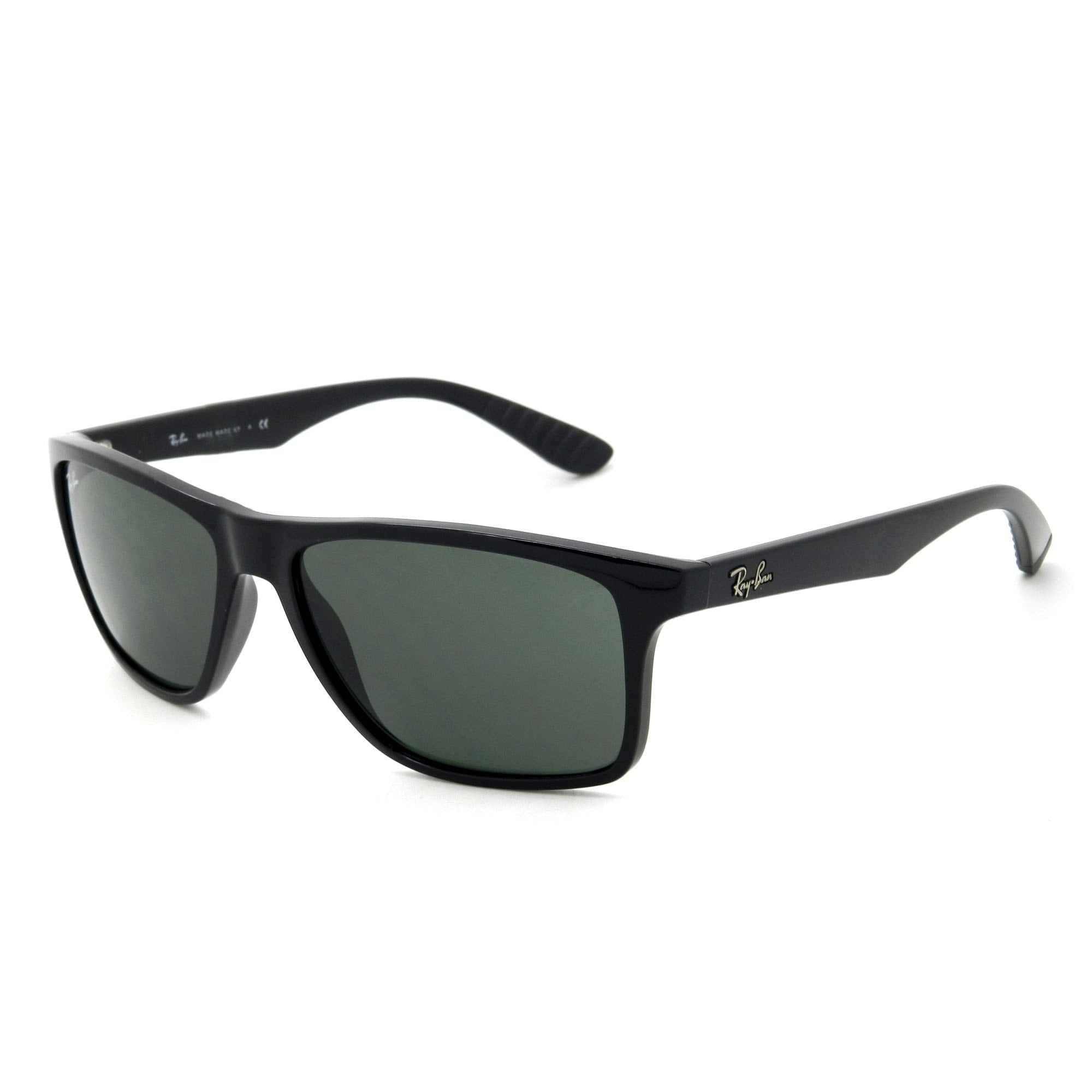 e23a471278 Shop Ray-Ban RB4234 601 71 Black Frame Green Classic 58mm Lens Sunglasses - Free  Shipping Today - Overstock - 14335564