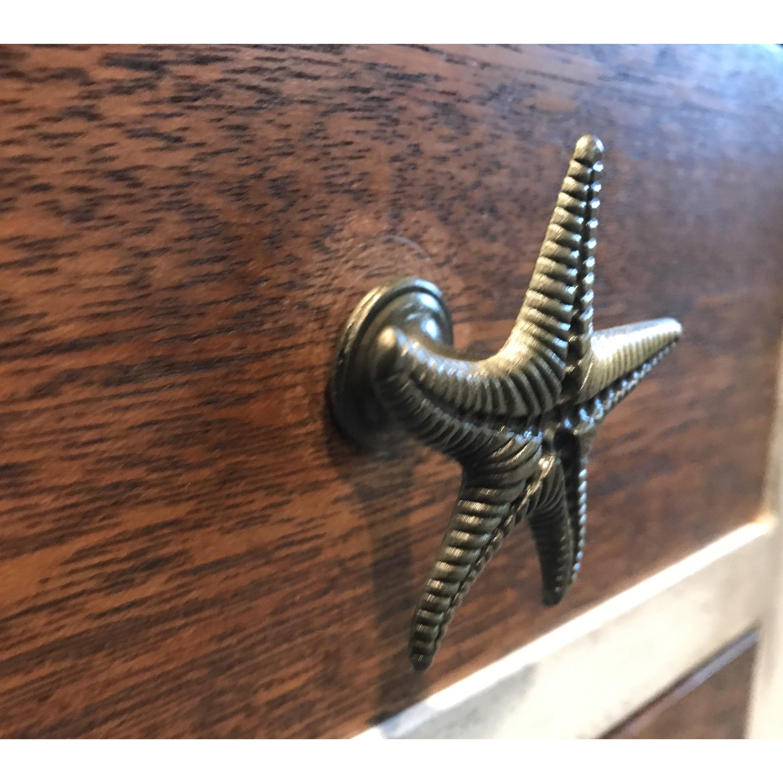 beach pulls dp handmade shell knob com amazon starfish drawers hardware drawer cabinet pull