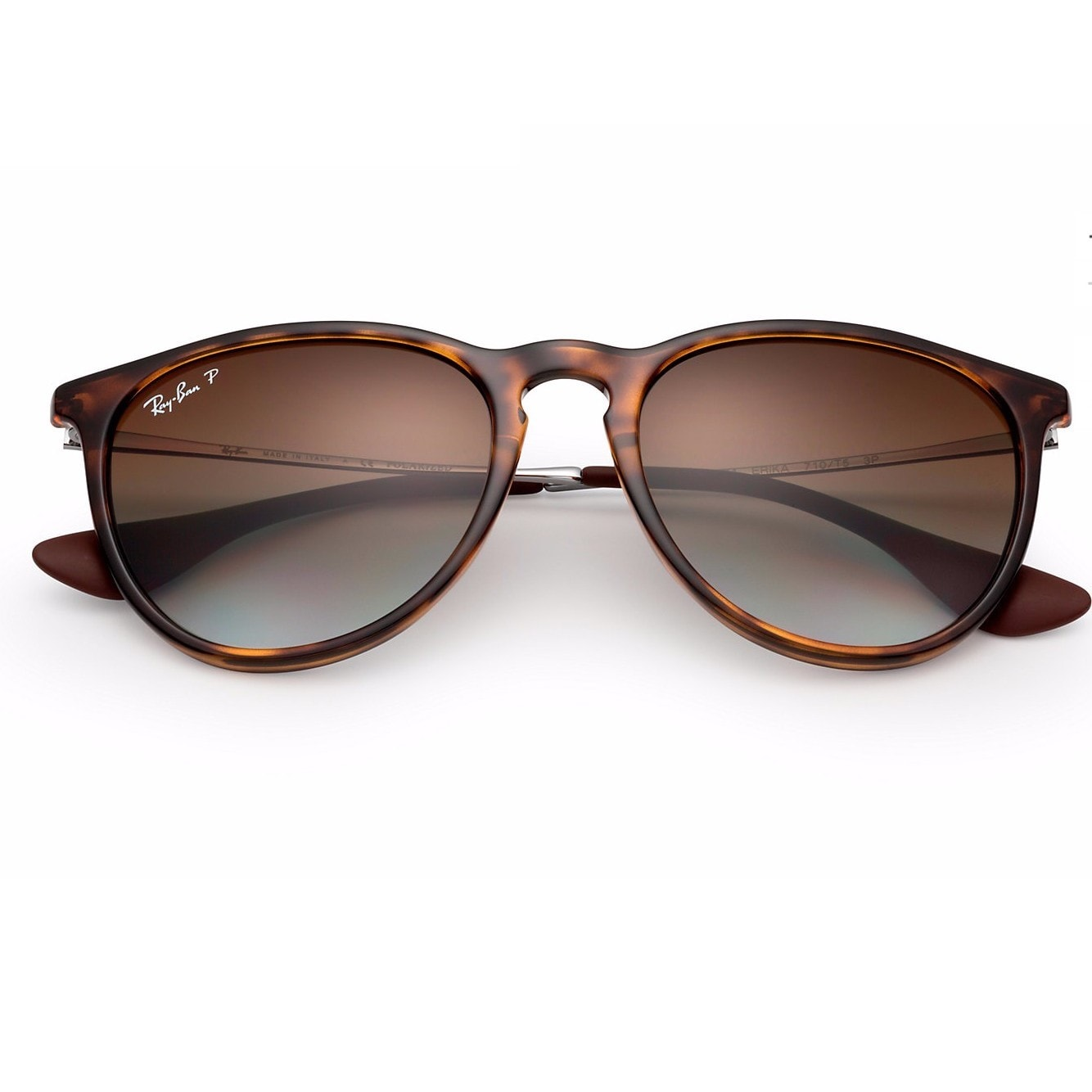 0a8724e857b2 Shop Ray-Ban RB4171 710 T5 Erika Classic Tortoise Frmae Polarized Brown  Gradient 54mm Lens Sunglasses - Free Shipping Today - Overstock - 14339071