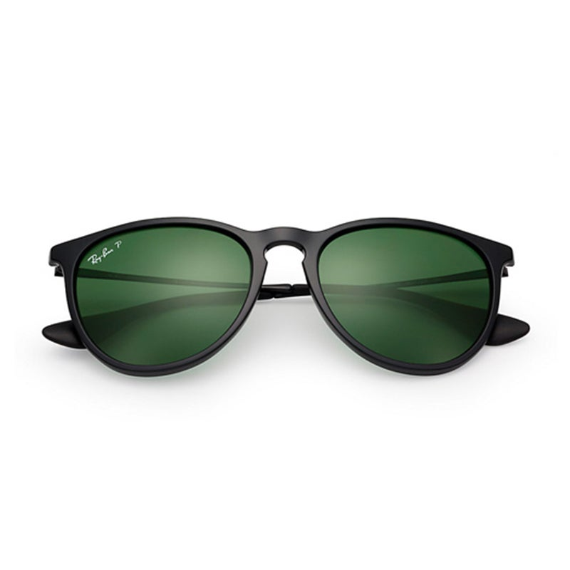 06ba01be9f4 Shop Ray-Ban RB4171 601 2P Erika Classic Black Frame Polarized Green 54mm  Lens Sunglasses - Free Shipping Today - Overstock - 14339090