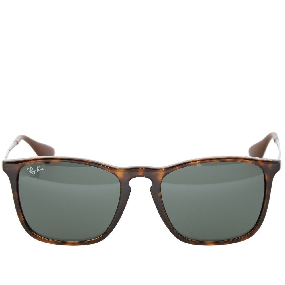 dd26f3adff Shop Ray-Ban RB4187 710 71 Chris Tortoise Gunmetal Frame Green Classic 54mm  Lens Sunglasses - Free Shipping Today - Overstock - 14341449
