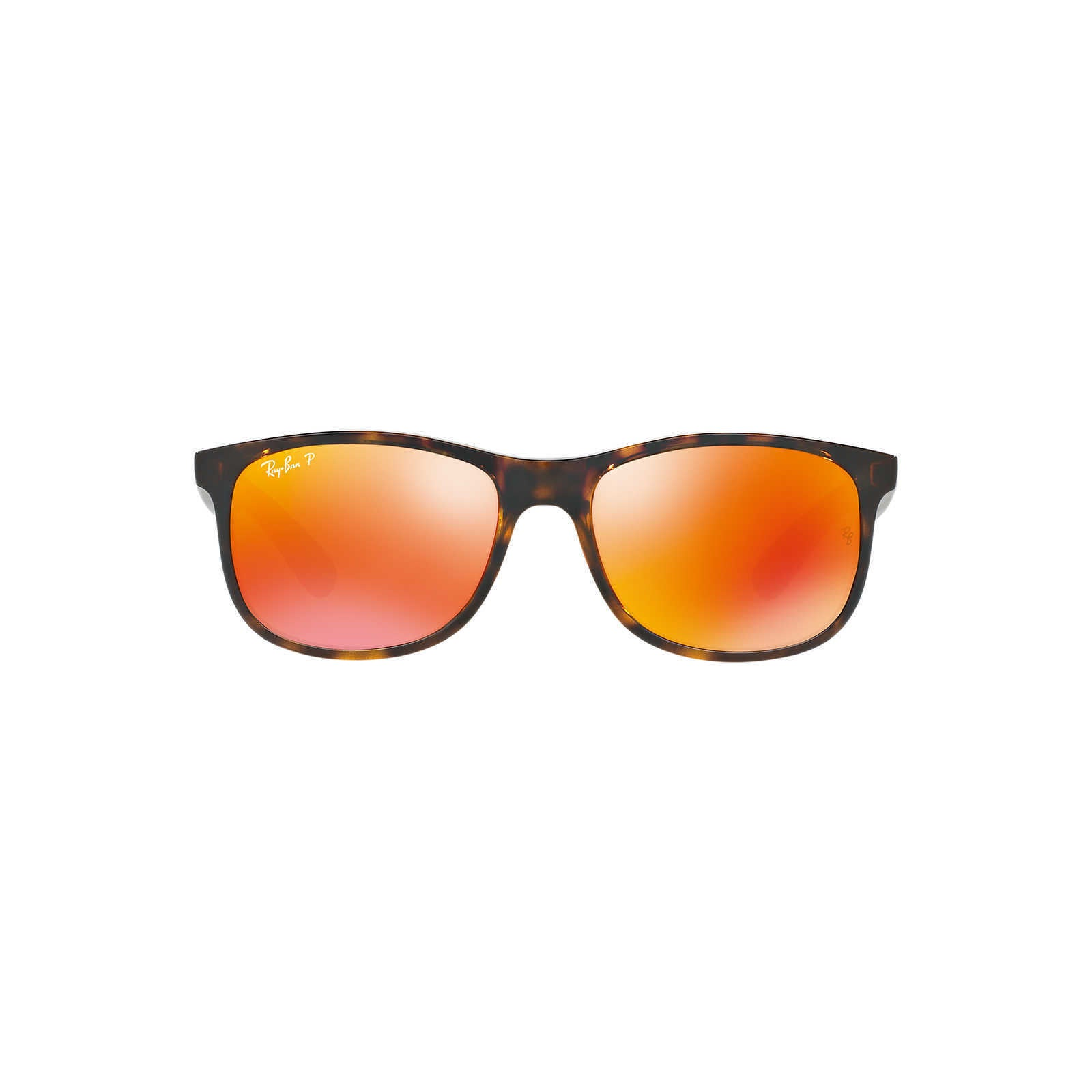 6cda49ba2d Shop Ray-Ban RB4202 710 6S Andy Tortoise Frame Polarized Orange Flash 55mm  Lens Sunglasses - Free Shipping Today - Overstock - 14341458