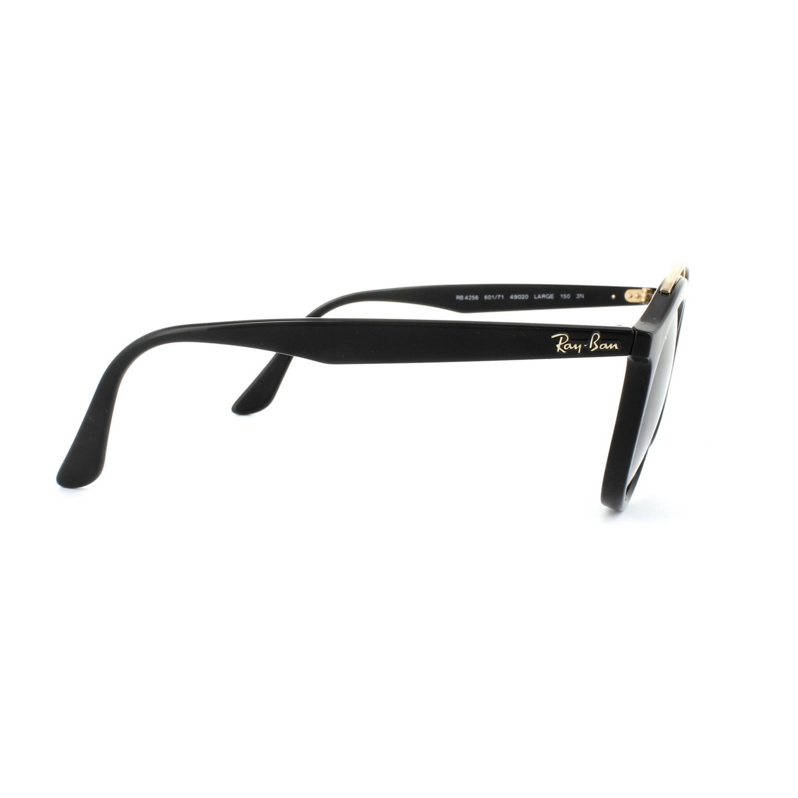 9ad900aab88 Shop Ray-Ban RB4256 601 71 Gatsby I Black Frame Green Classic 49mm Lens  Sunglasses - Free Shipping Today - Overstock.com - 14341464