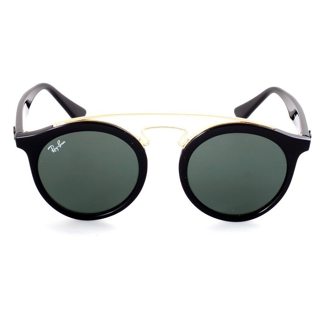 867051dc73 Shop Ray-Ban RB4256 601 71 Gatsby I Black Frame Green Classic 49mm Lens  Sunglasses - Free Shipping Today - Overstock.com - 14341464