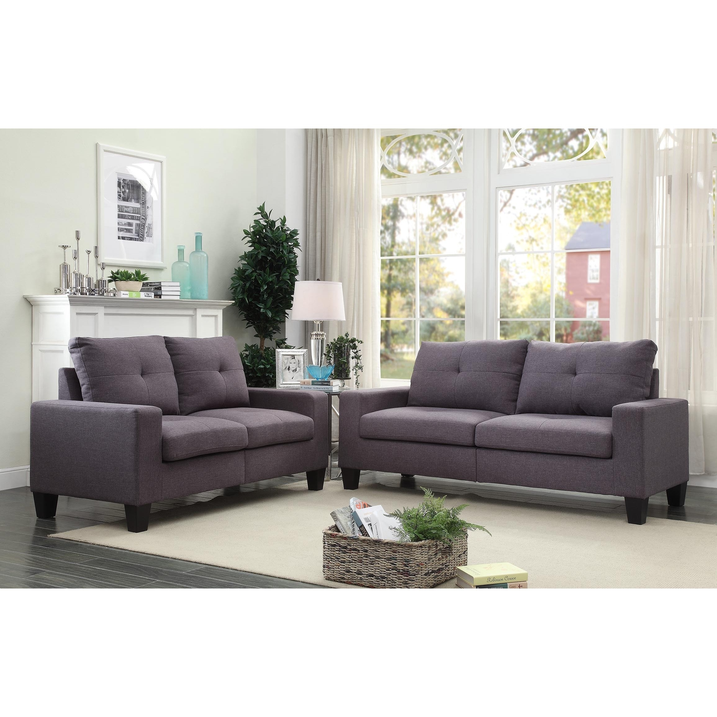 home product copper studio button tufted living room shipping garden grove and baxton muir modern overstock euthalia upholstered free contemporary today loveseat seater fabric