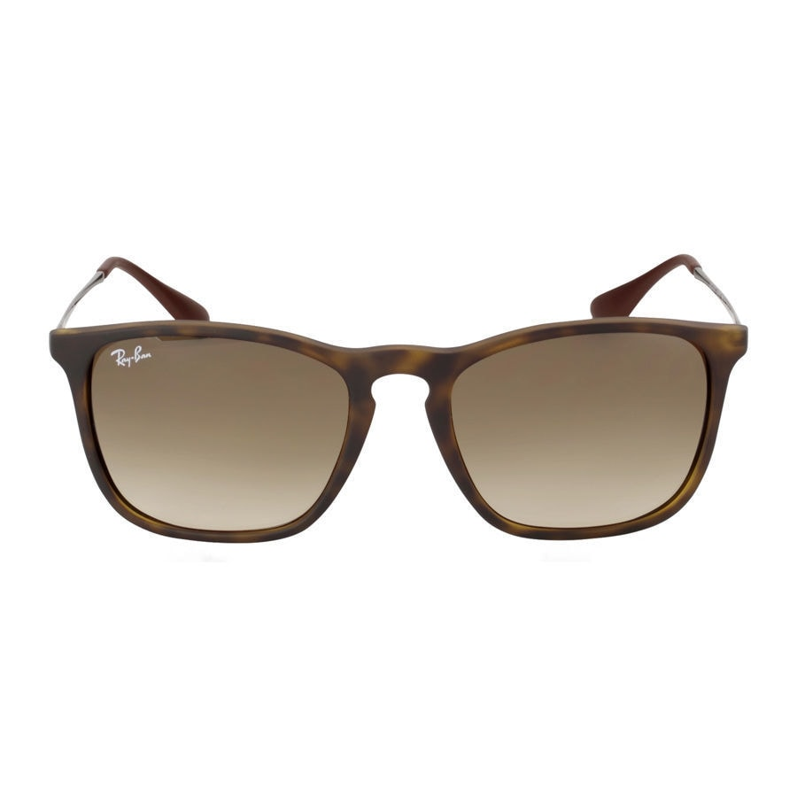 179052dbc7 Shop Ray-Ban RB4187 856 13 Chris Tortoise Frame Brown Gradient 54mm Lens  Sunglasses - Free Shipping Today - Overstock - 14341497