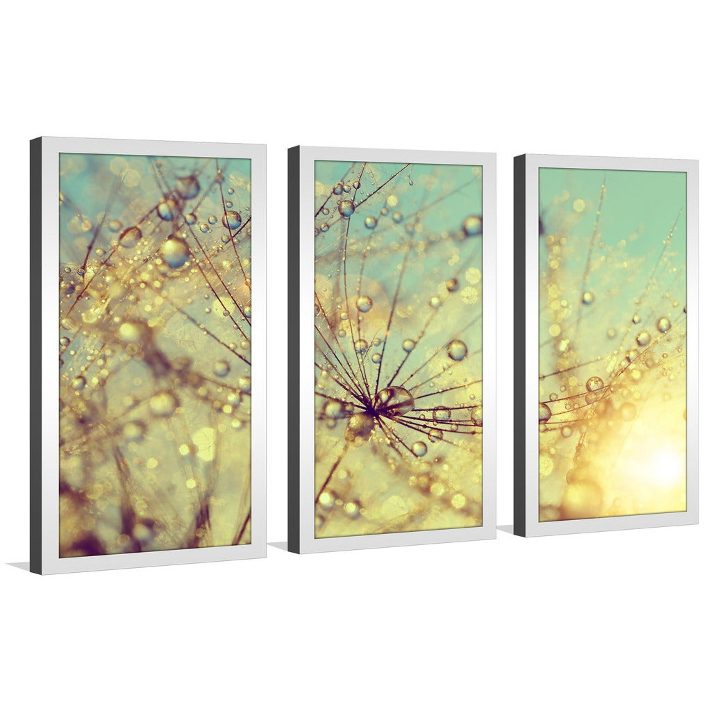 Colorful Framed Wall Art Set Of 3 Vignette - The Wall Art ...