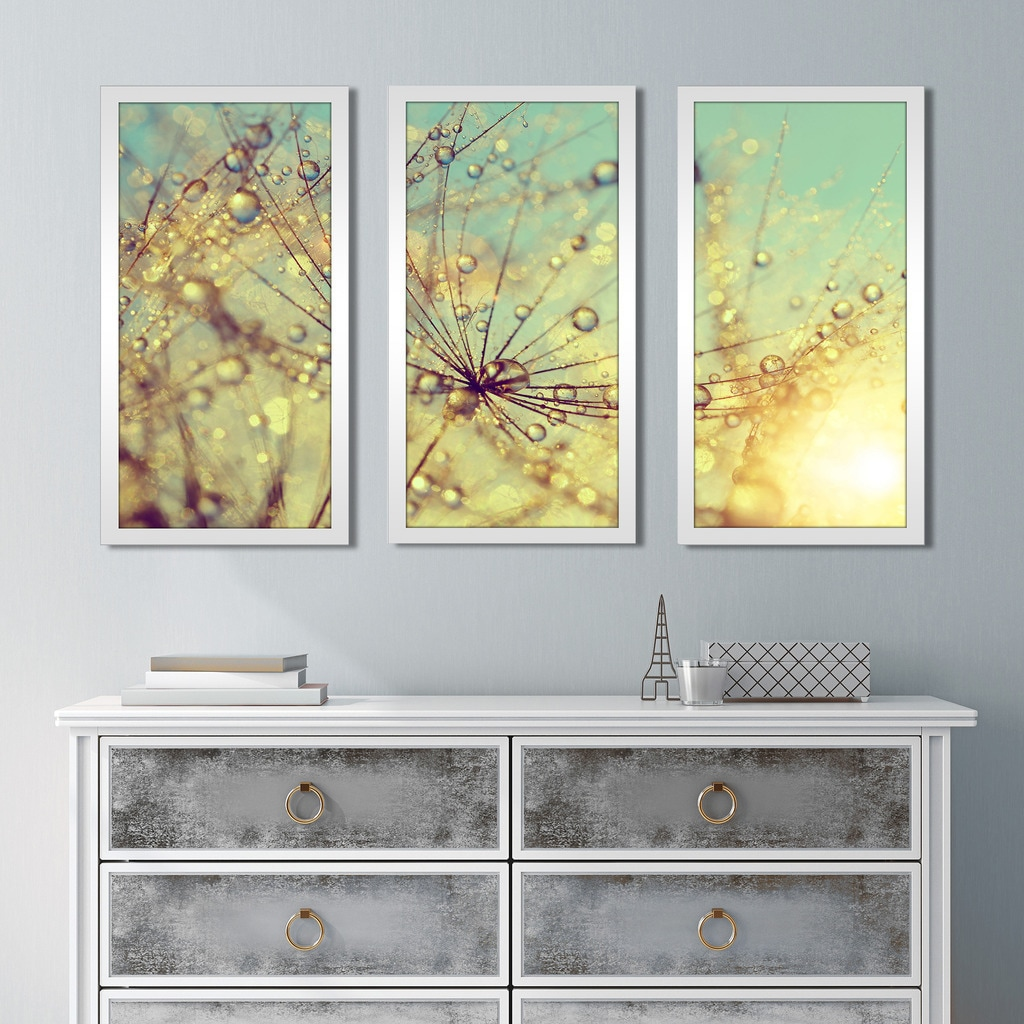 Cute Framed Wall Art Set Of 3 Images - The Wall Art Decorations ...