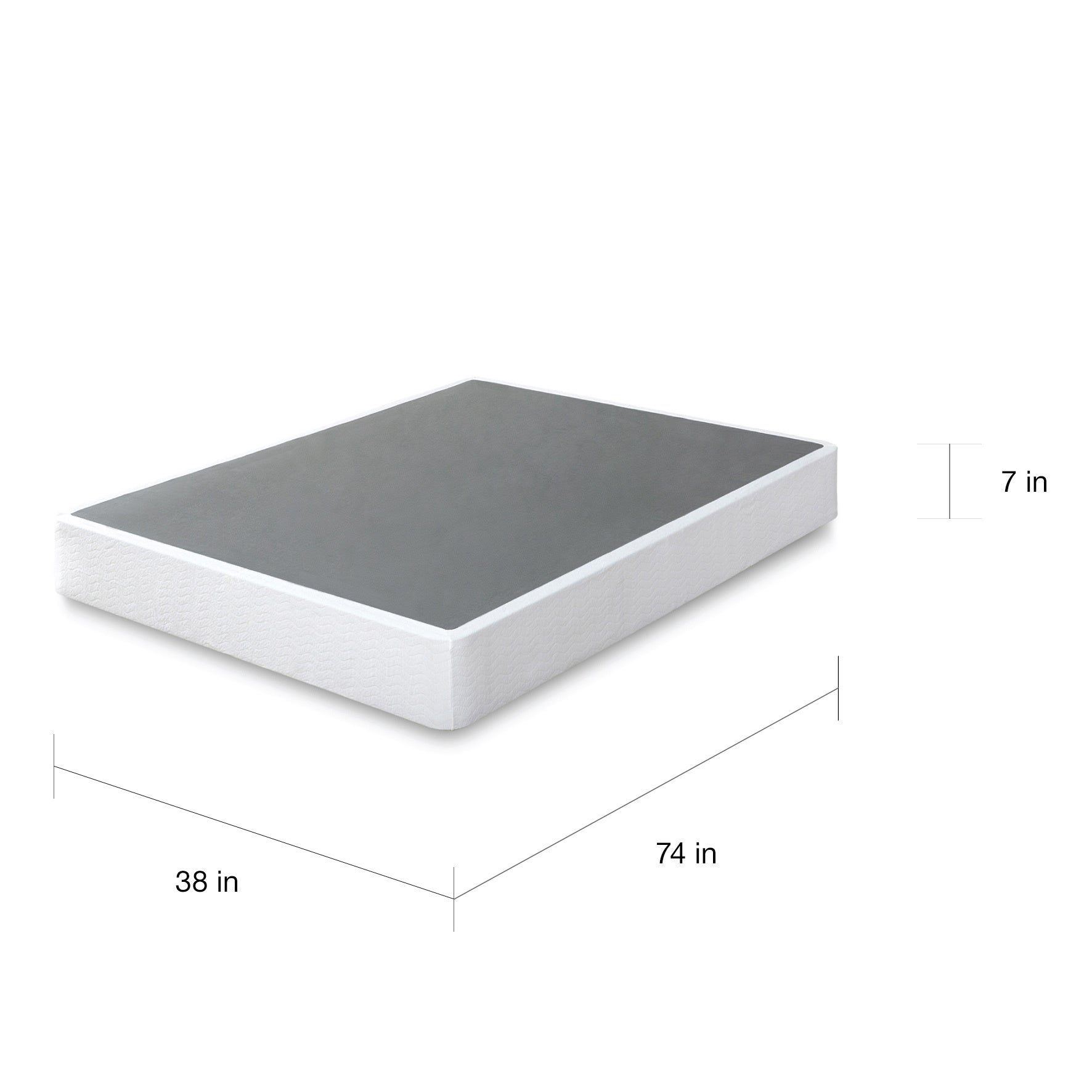 shop priagezinus 7 inch twin-size box spring mattress foundation
