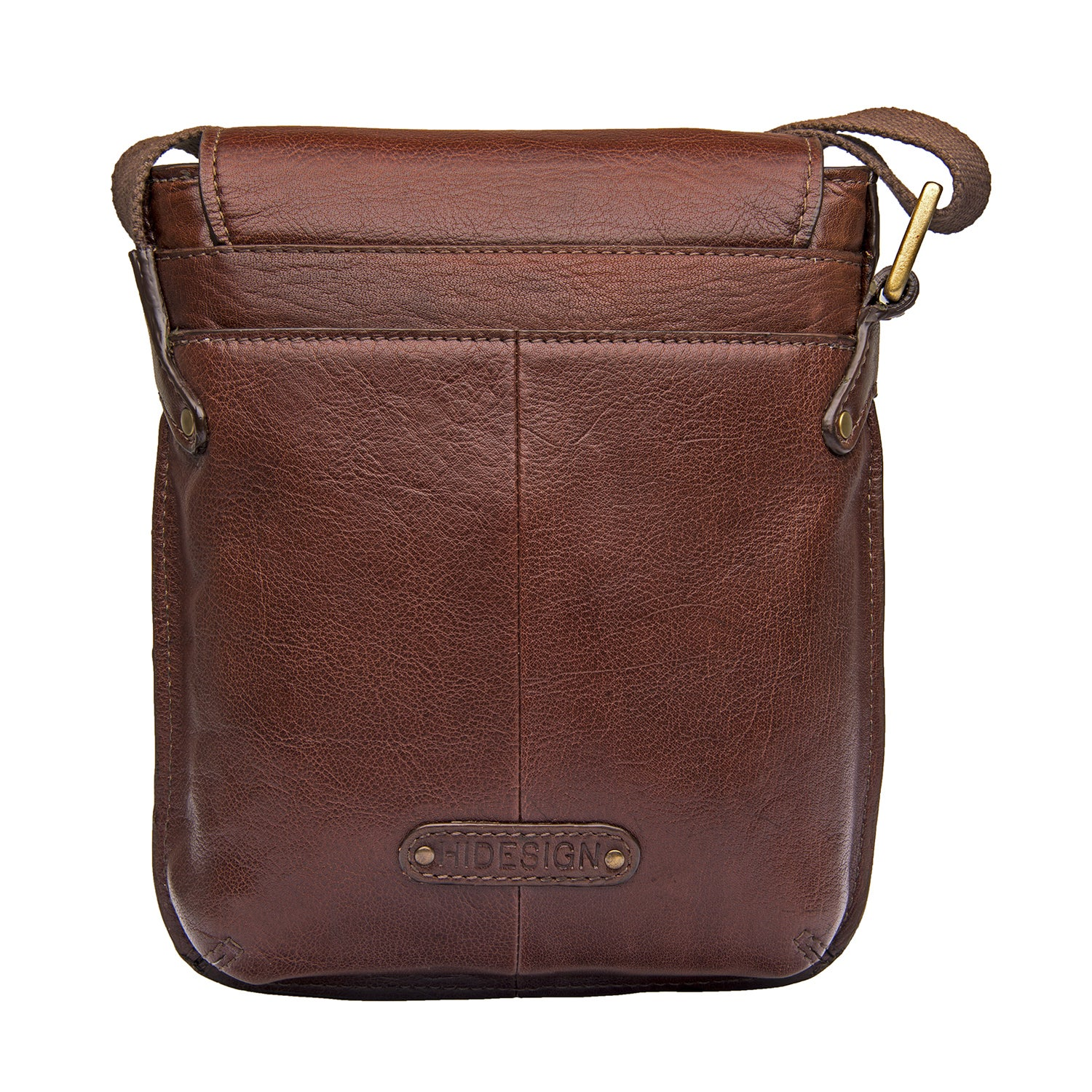 8e294c648708 Shop Hidesign Vespucci Brown Leather Small Crossbody Messenger Bag - On  Sale - Free Shipping Today - Overstock - 14356614