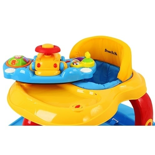 d01f6b913 Shop Dream On Me Baby Tunes Fabric 2-in-1 Musical Activity Walker ...