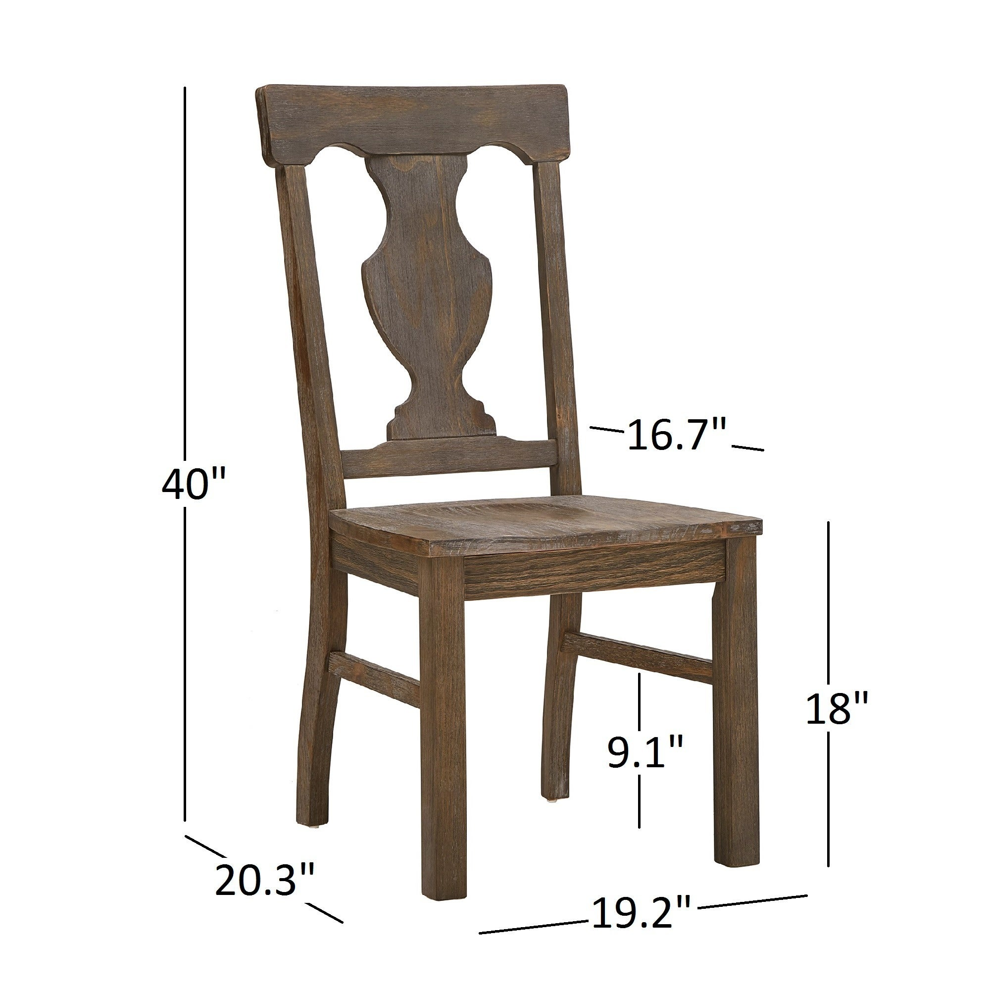 Superieur Shop Rowyn Wood Dining Fiddle Back Dining Chairs (Set Of 2) By INSPIRE Q  Artisan   On Sale   Free Shipping Today   Overstock.com   14357273