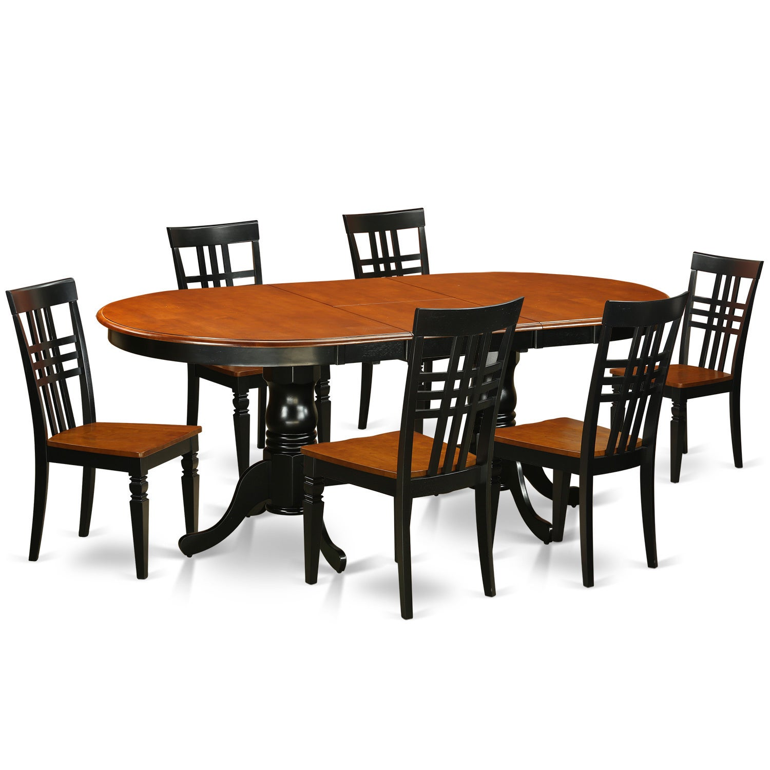 Shop Plainville 7-piece Dining Table and Chairs Set - Free Shipping Today -  Overstock.com - 14366639 daece07ae4e7