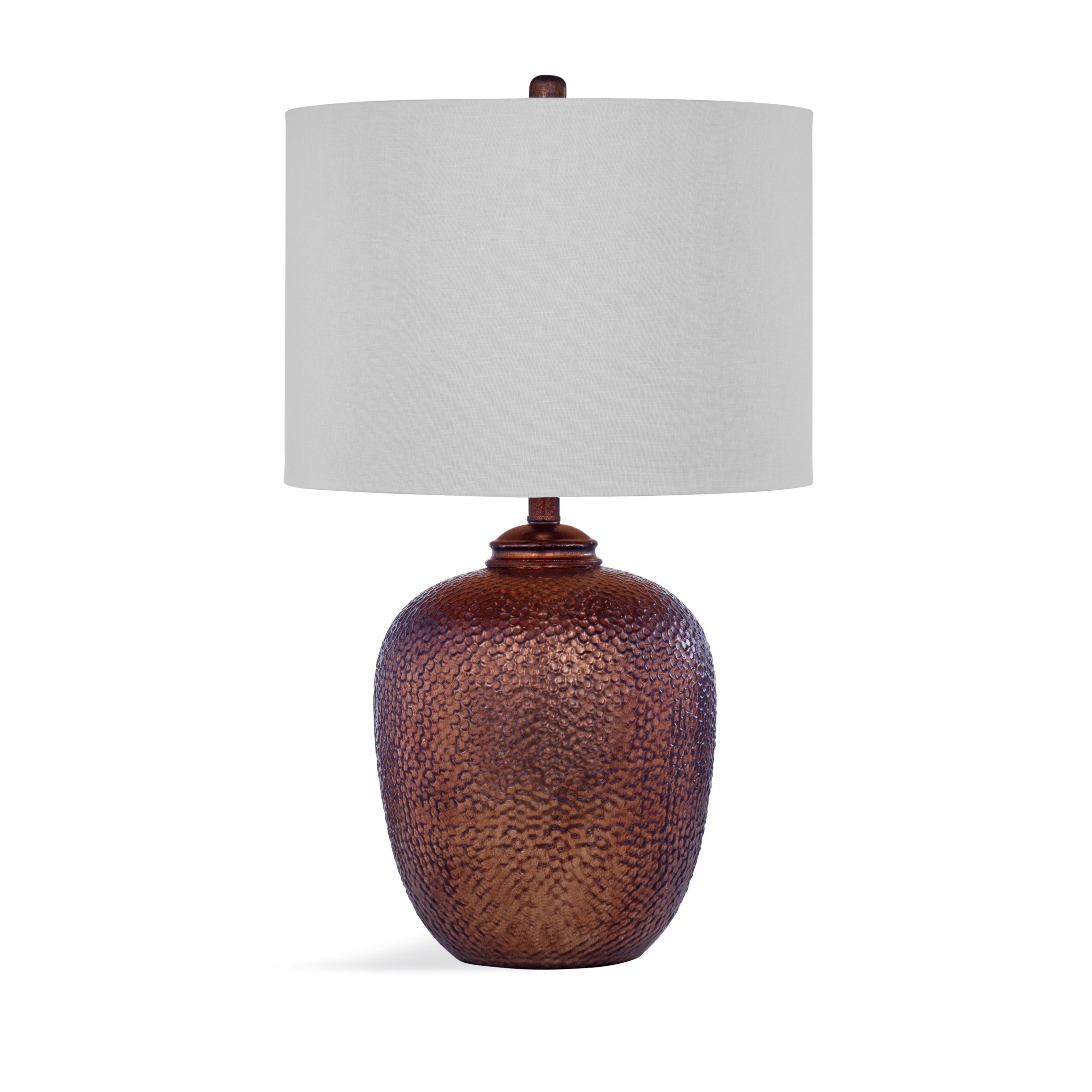 Shop Trevor 26 Inch Brown Ceramic Table Lamp Free Shipping Today