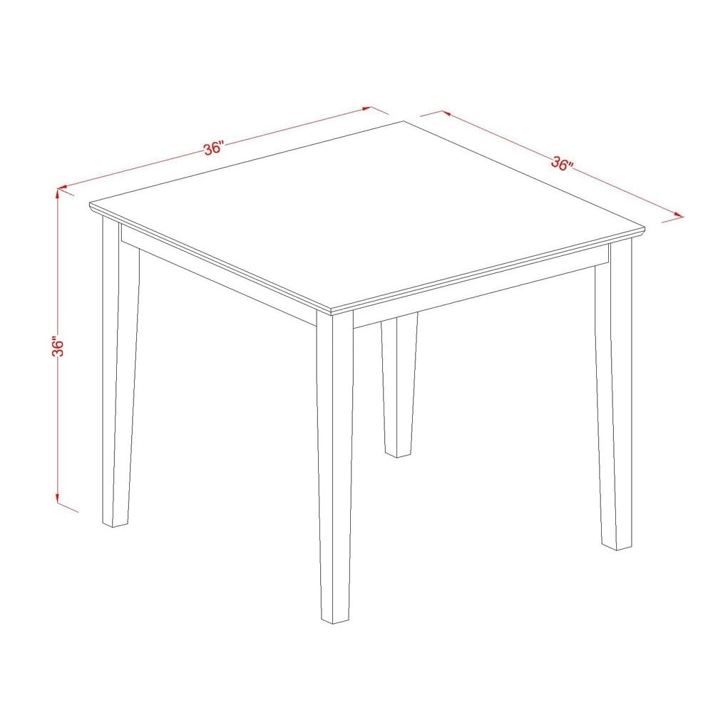 36 Inch Square Counter Height Pub Table Free Shipping Today 14370028