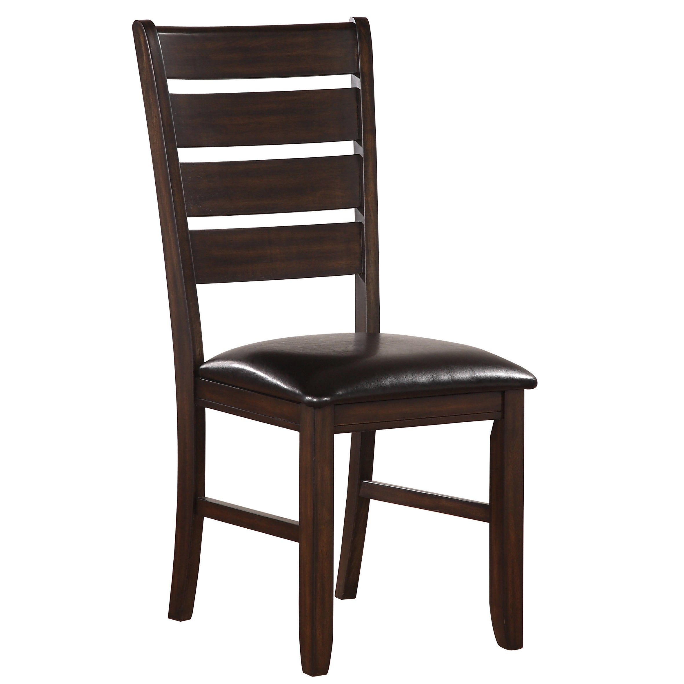 Shop acme furniture urbana black and espresso rubberwood dining chair set of 2 free shipping today overstock com 14370353