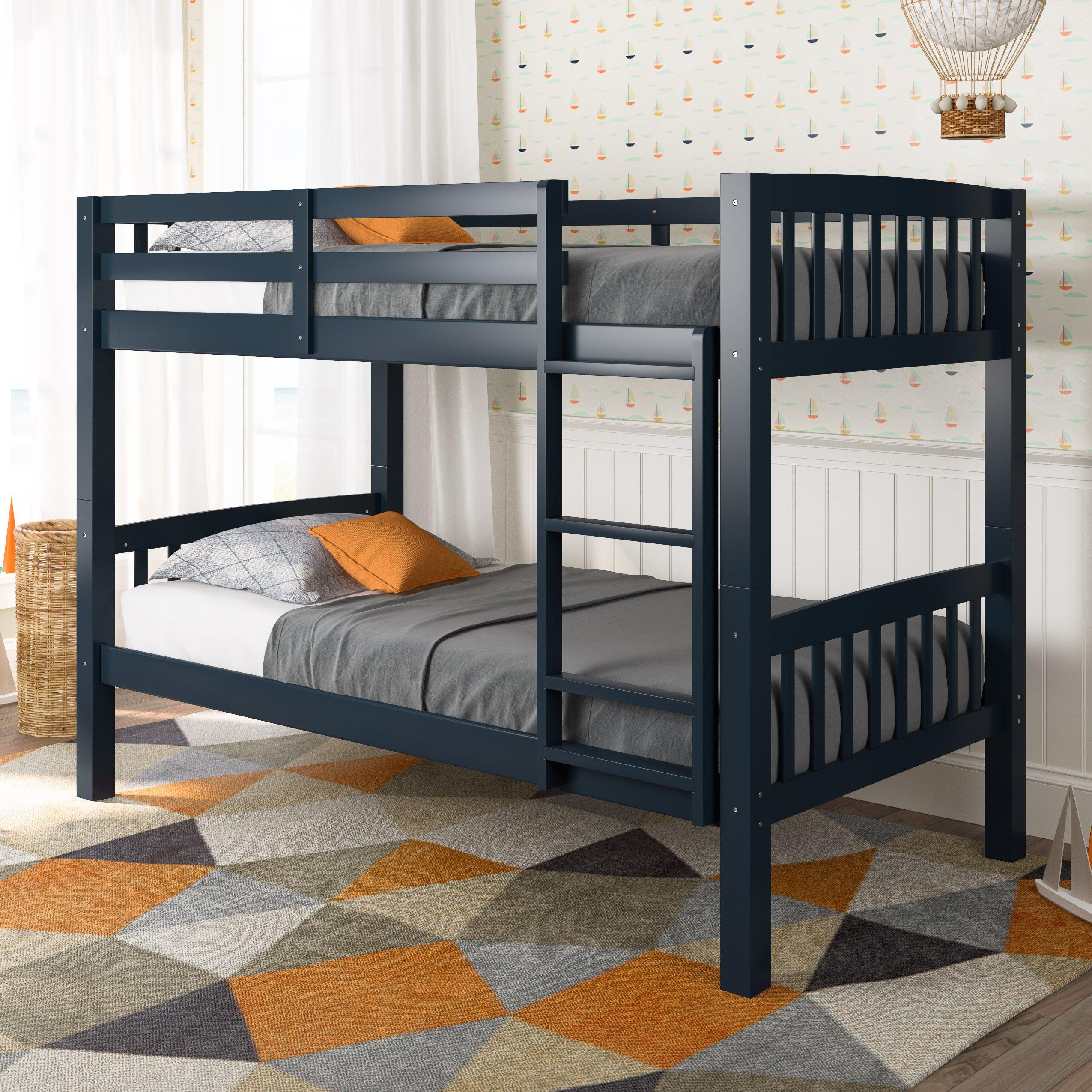 Shop Corliving Dakota Twin Single Bunk Bed Free Shipping Today