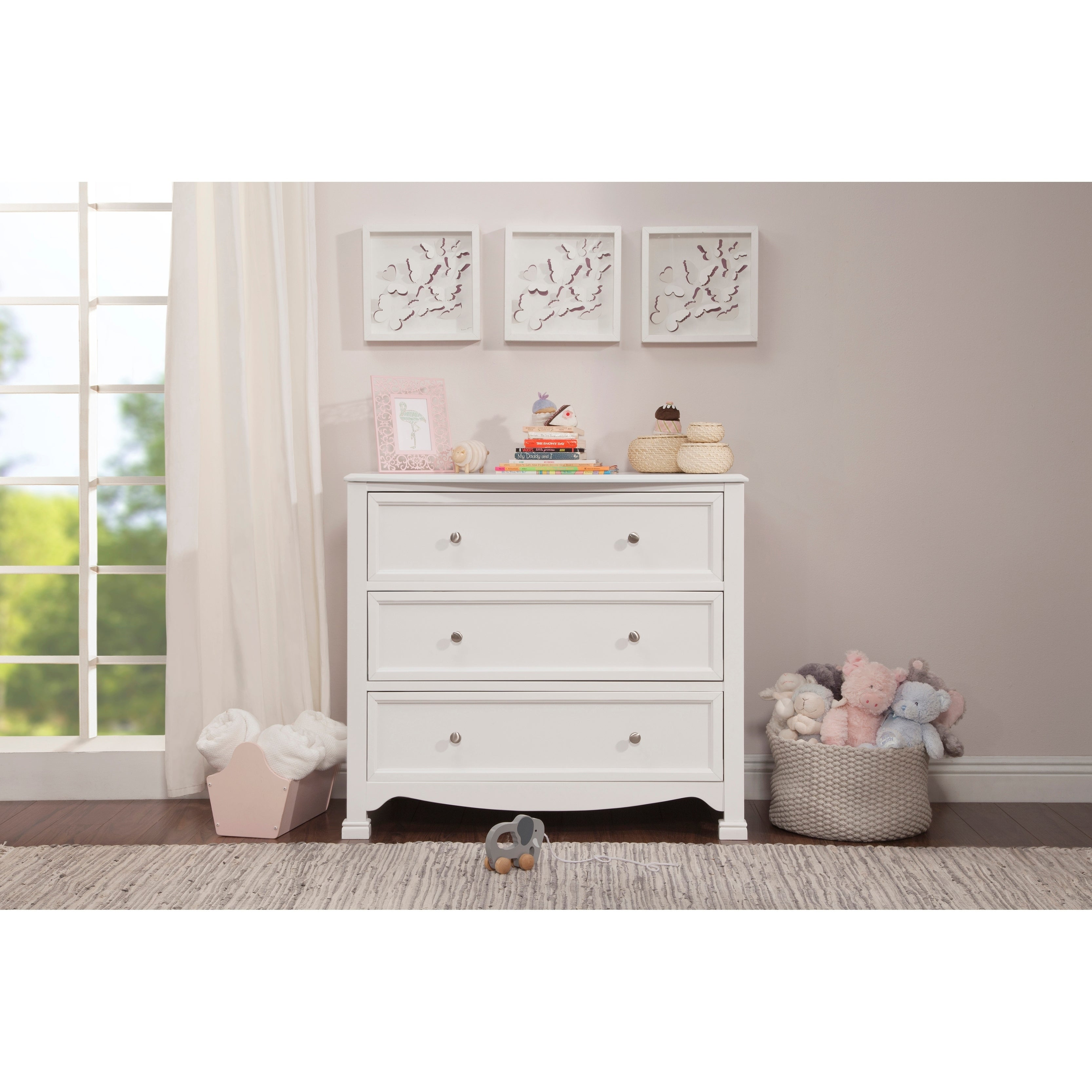 drawer white children garden home product today delta wood drawers shipping free dresser overstock
