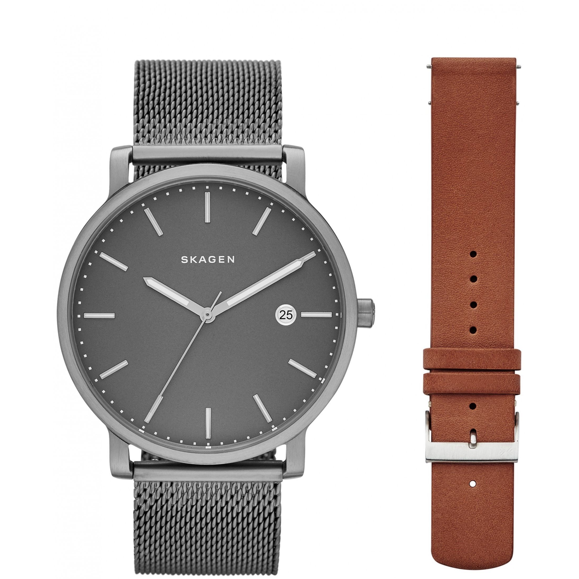 steel hagen s by stainless watches pin watch men skagen