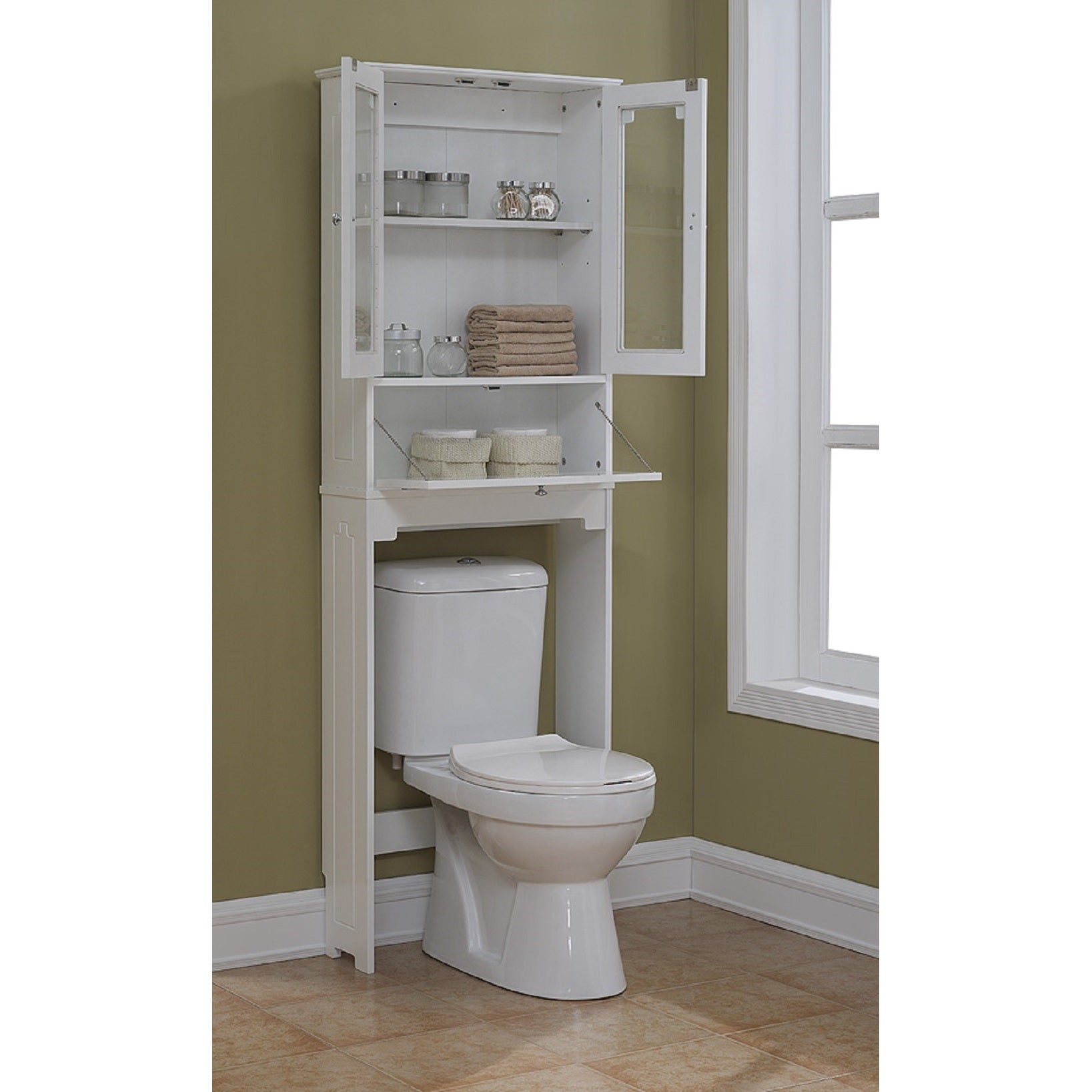 phuket the standing collection and over saver free black space cabinet toilet bamboo