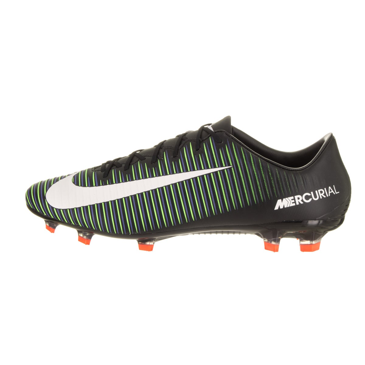 fd3dcb6ae6c Shop Nike Men s Mercurial Veloce III Fg Black Synthetic Leather Soccer  Cleats - Free Shipping Today - Overstock - 14396601