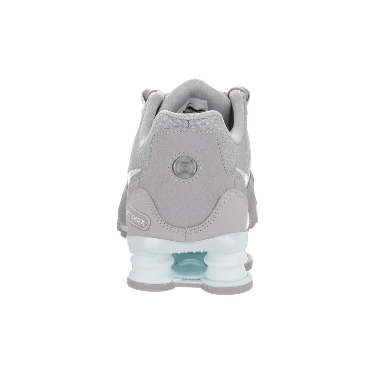 6cc91cf0052b Shop Nike Women s Shox Avenue SE Grey Textile Running Shoes - Free Shipping  Today - Overstock - 14396818
