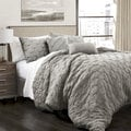 Lush Decor Ravello Pintuck 5-piece Comforter Set