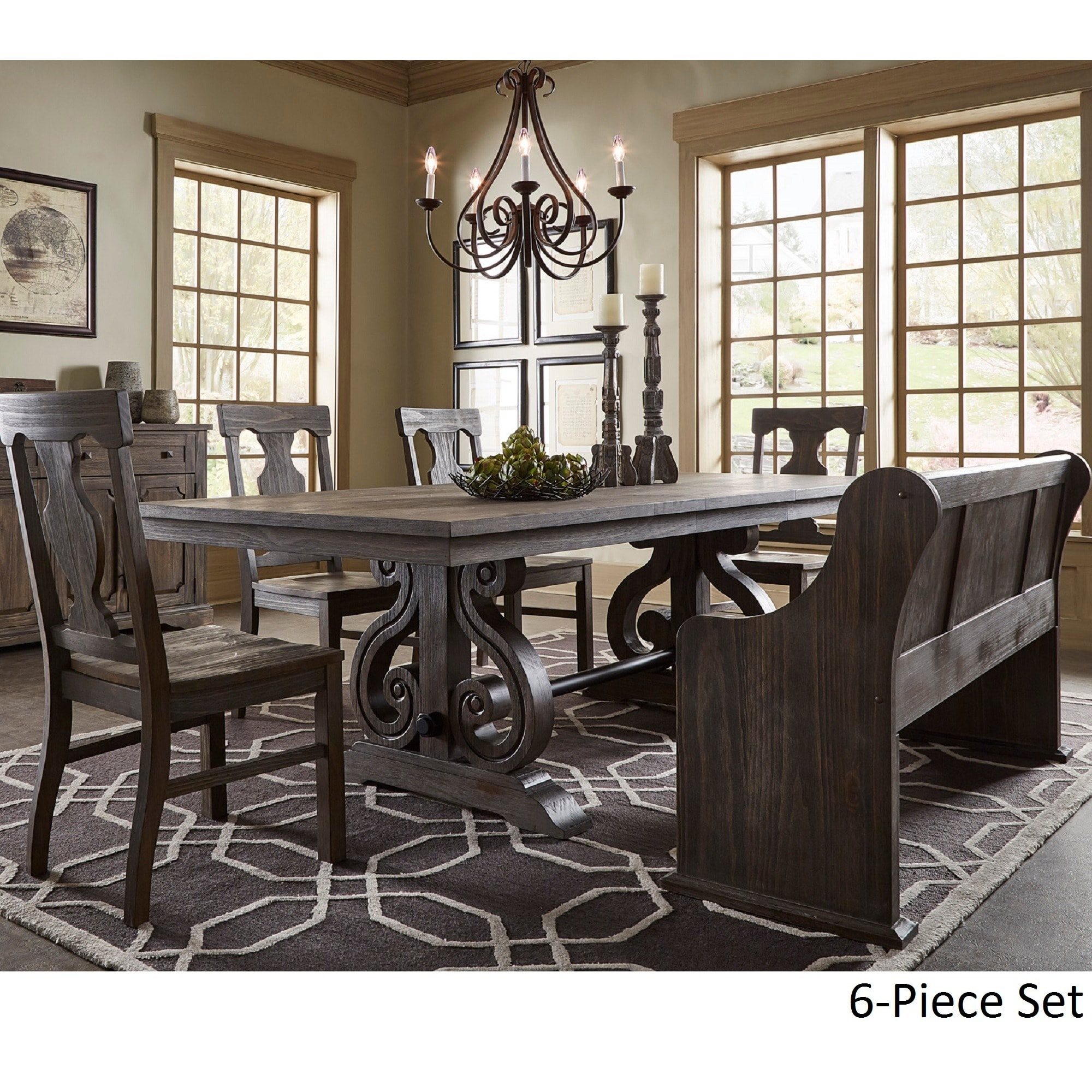stanley furniture products dining table piece set belfort round virage number room item dinning
