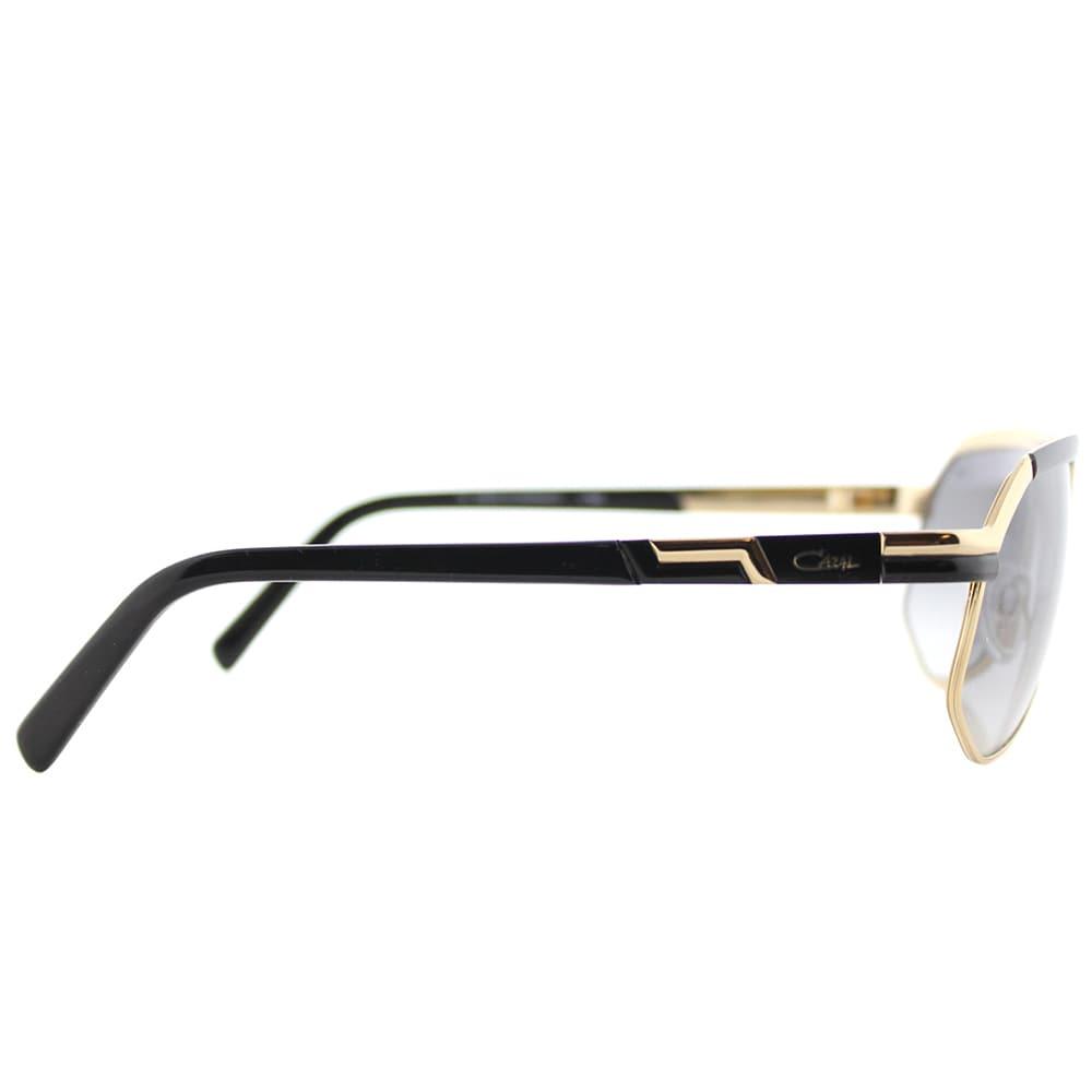 3d902eddc9b Shop Cazal Cazal 9056 001SG Black Gold Metal Aviator Sunglasses with Grey  Gradient Lens - Free Shipping Today - Overstock - 14402896