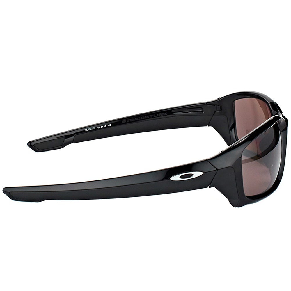 cae5c4a8469 Shop Oakley OO 9331 933107 StraightLink Polished Black Plastic Sport  Sunglasses with Prizm Daily Polarized Lens - Free Shipping Today -  Overstock.com - ...