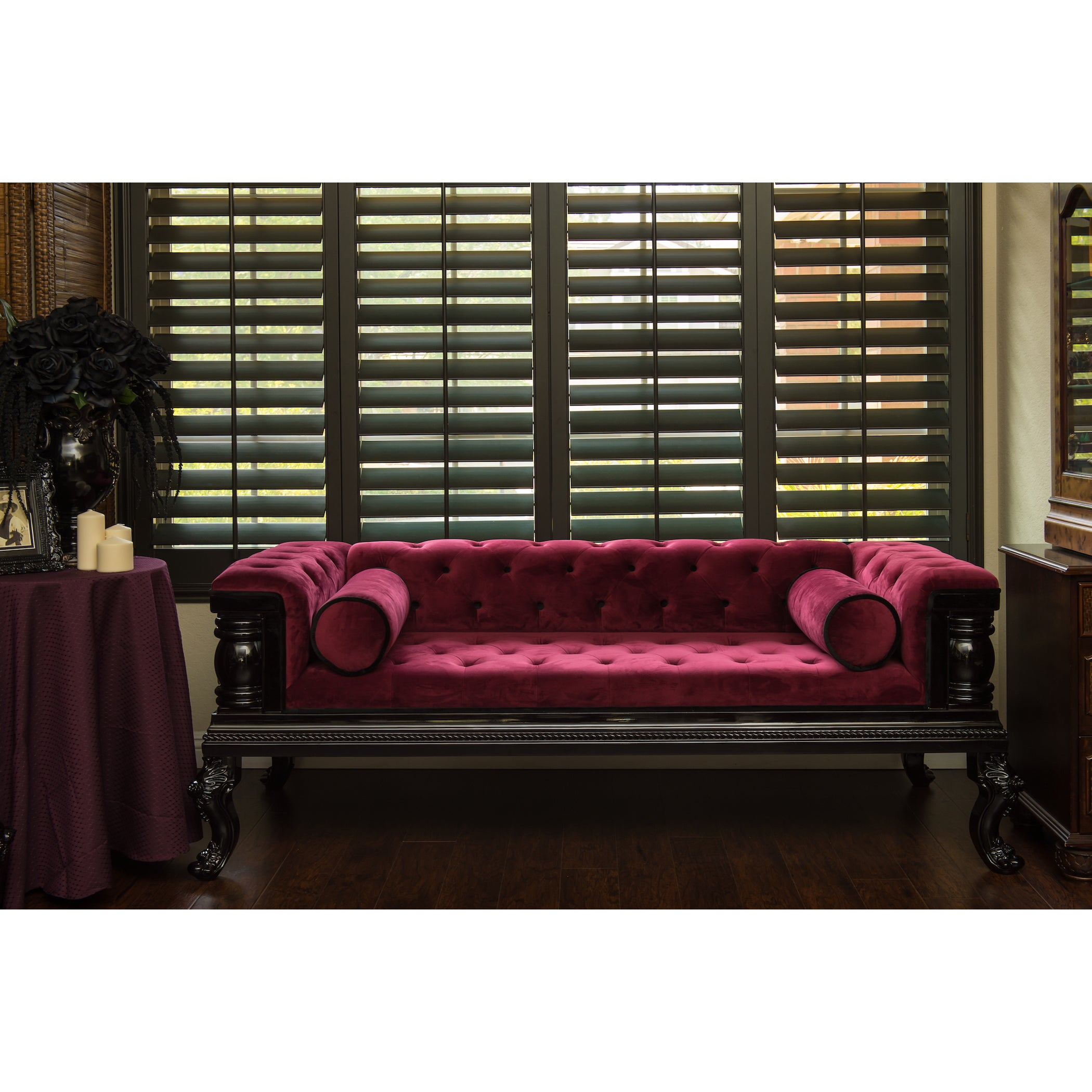 seat couch city velvet hire sofa furniture seater chesterfield style red