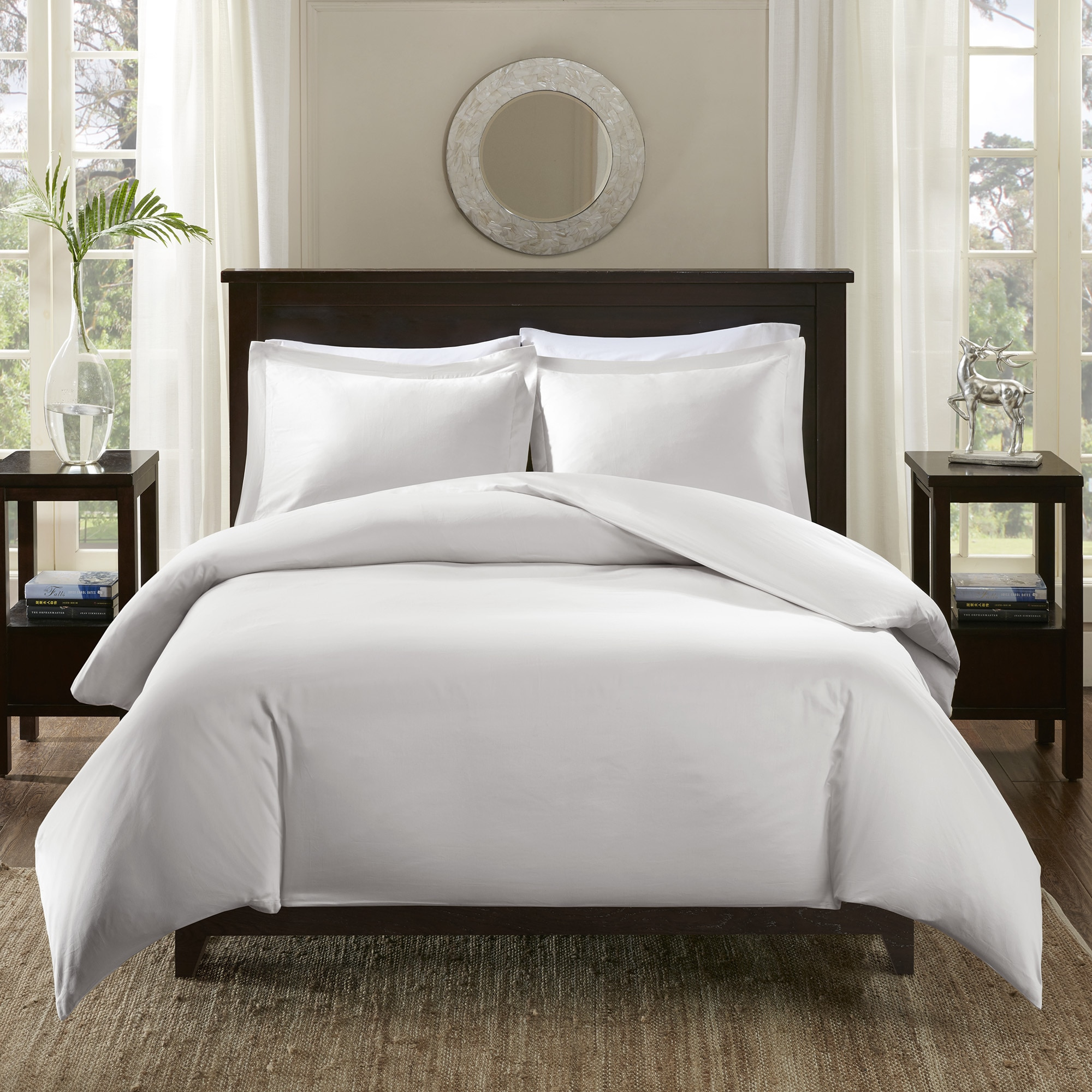 Madison Park Signature 600 Thread Count Infinity Cotton Duvet Cover Set Free Shipping Today 20984862