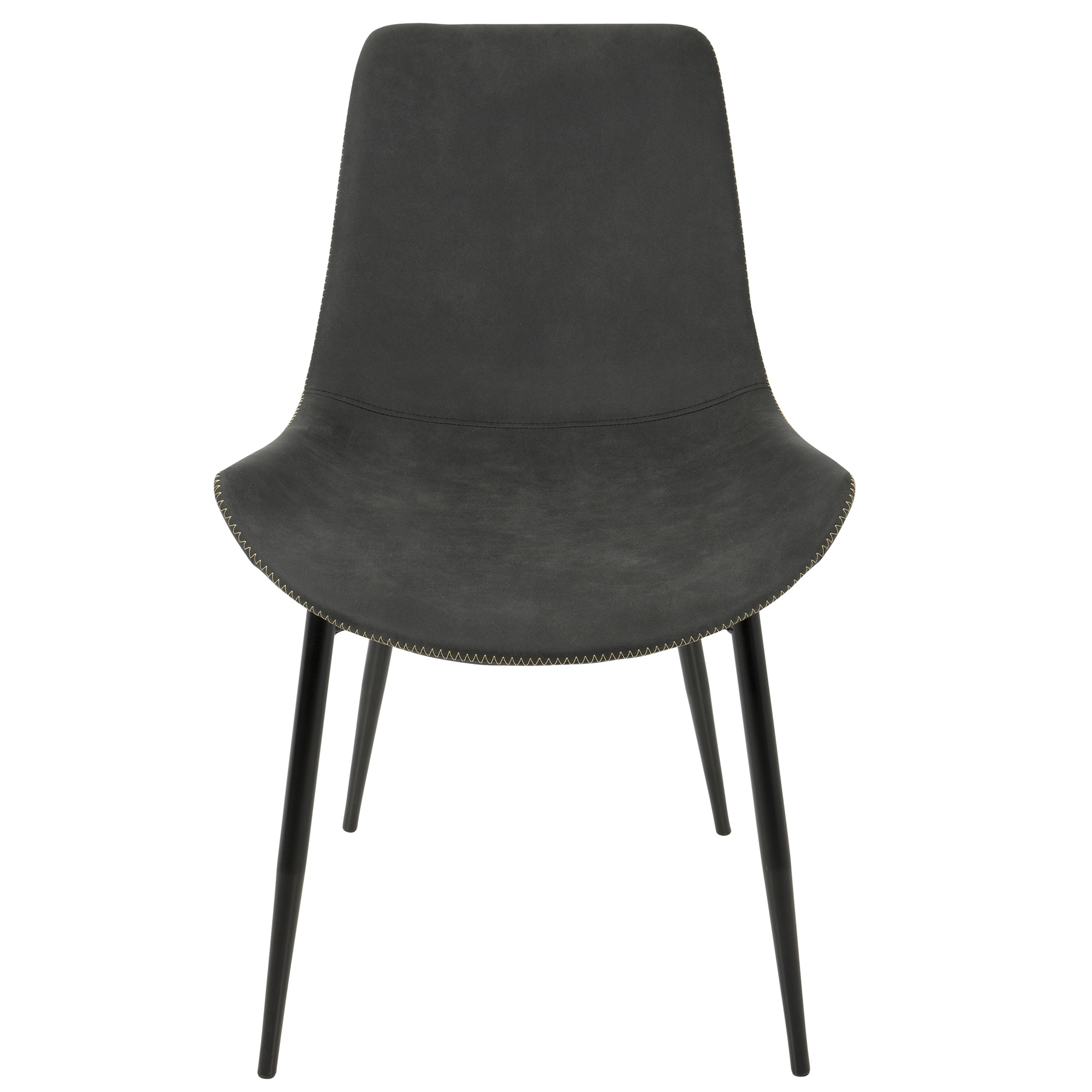 lumisource duke black metal industrial dining chairs (set of )  freeshipping today  overstockcom  . lumisource duke black metal industrial dining chairs (set of