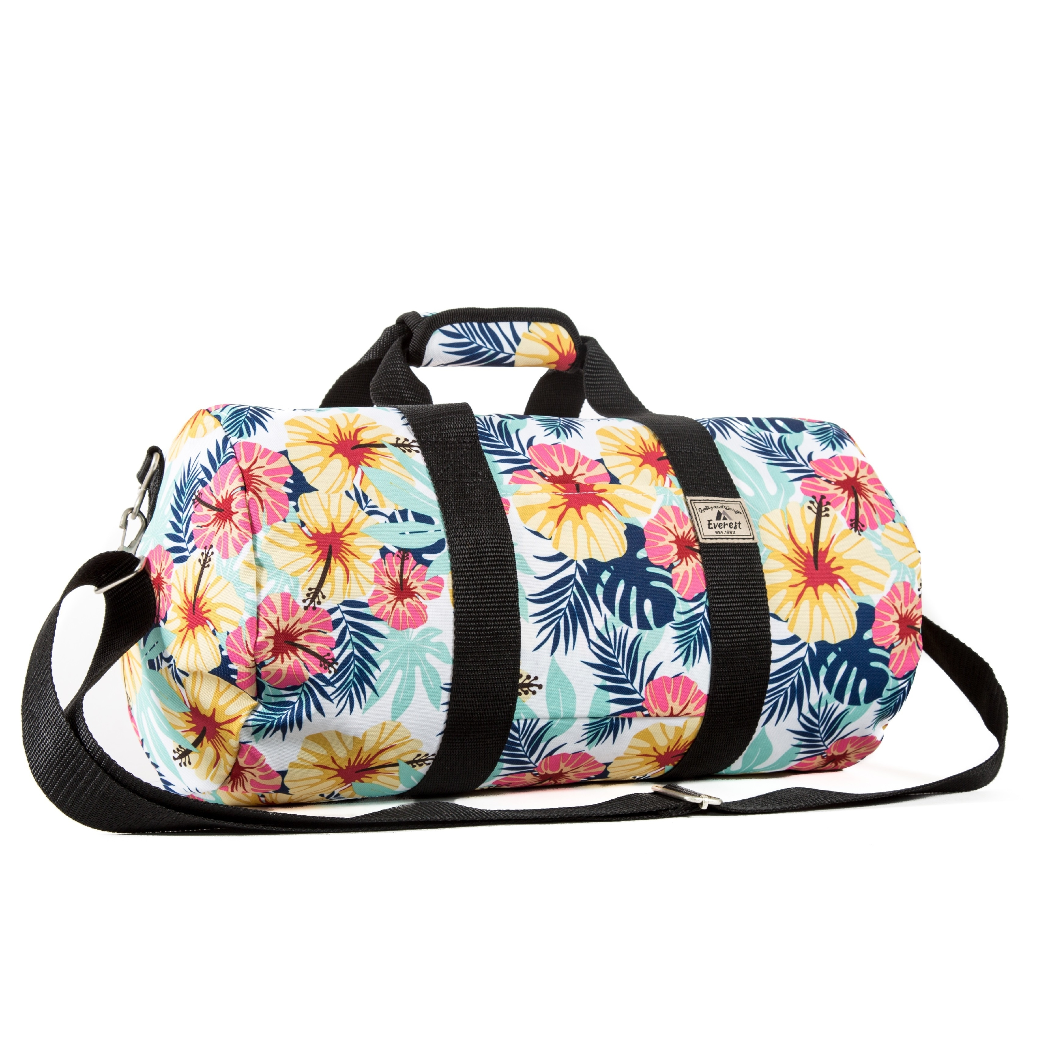 309b5be67975 Shop Everest Tropical Pattern 16-inch Round Duffel Bag - Free Shipping On Orders  Over  45 - Overstock.com - 14417182