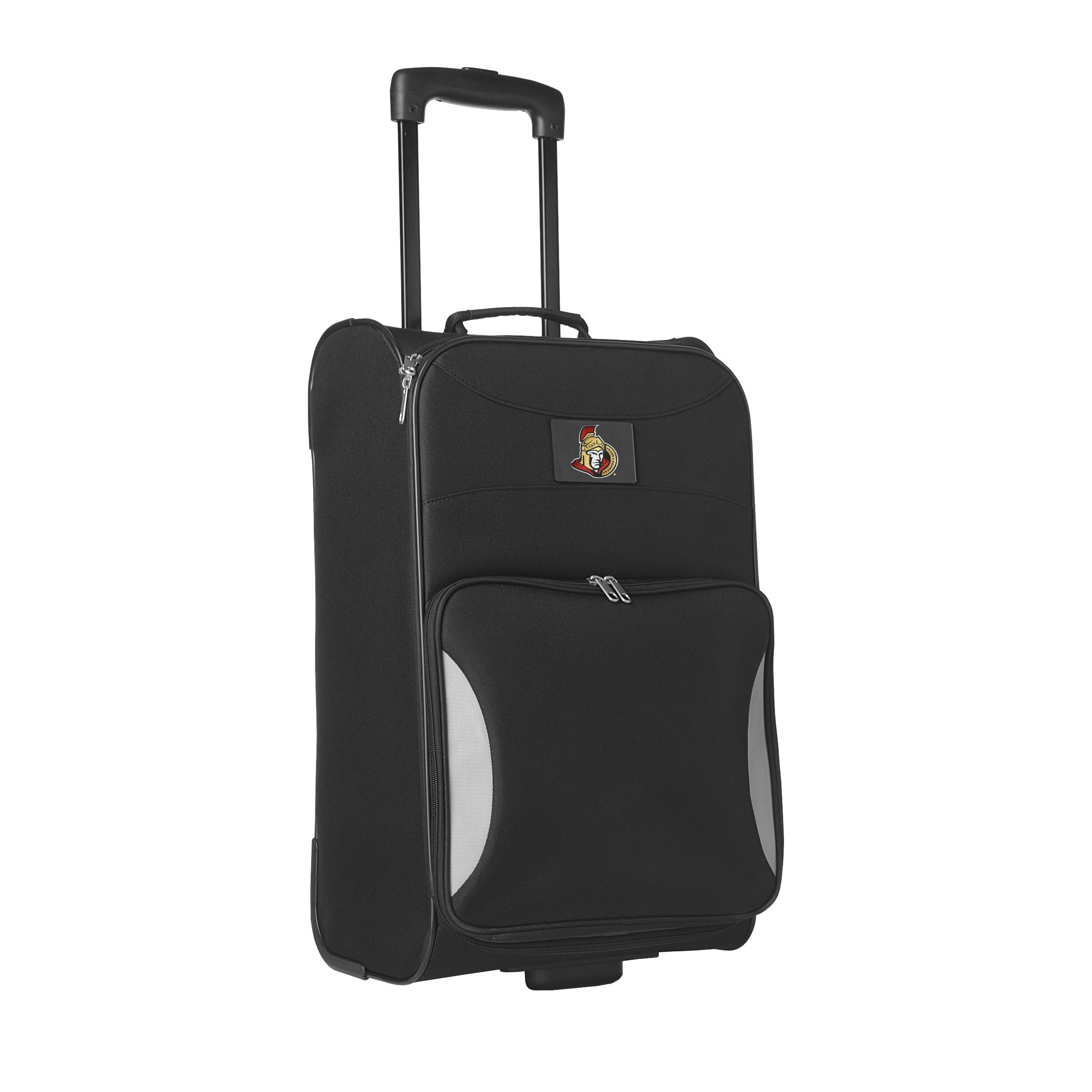 cac612ac0 Shop Denco Sports Steadfast 18-inch Ottawa Senators Black Rolling Carry-on  Upright Suitcase - Free Shipping Today - Overstock - 14418262