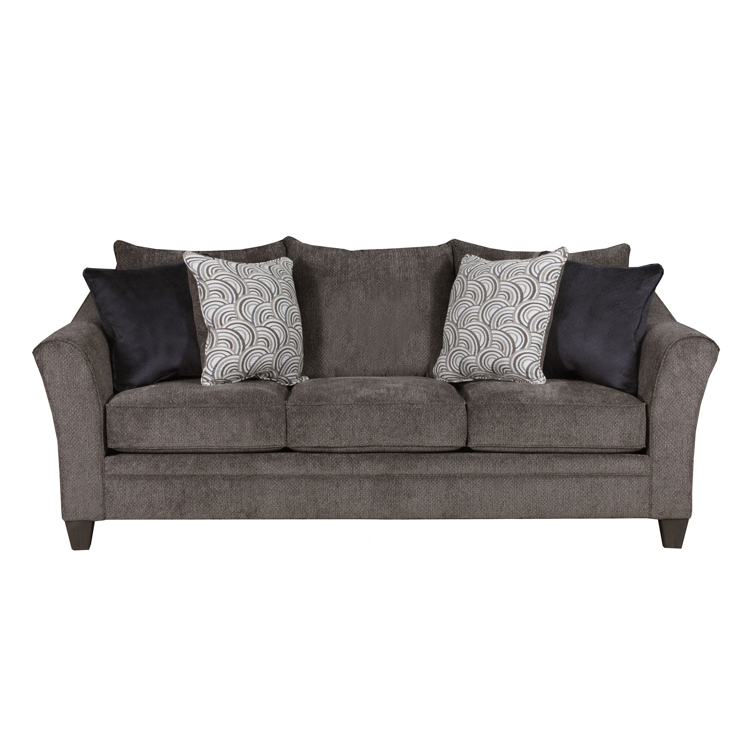 shop simmons upholstery albany queen sleeper sofa free shipping rh overstock com