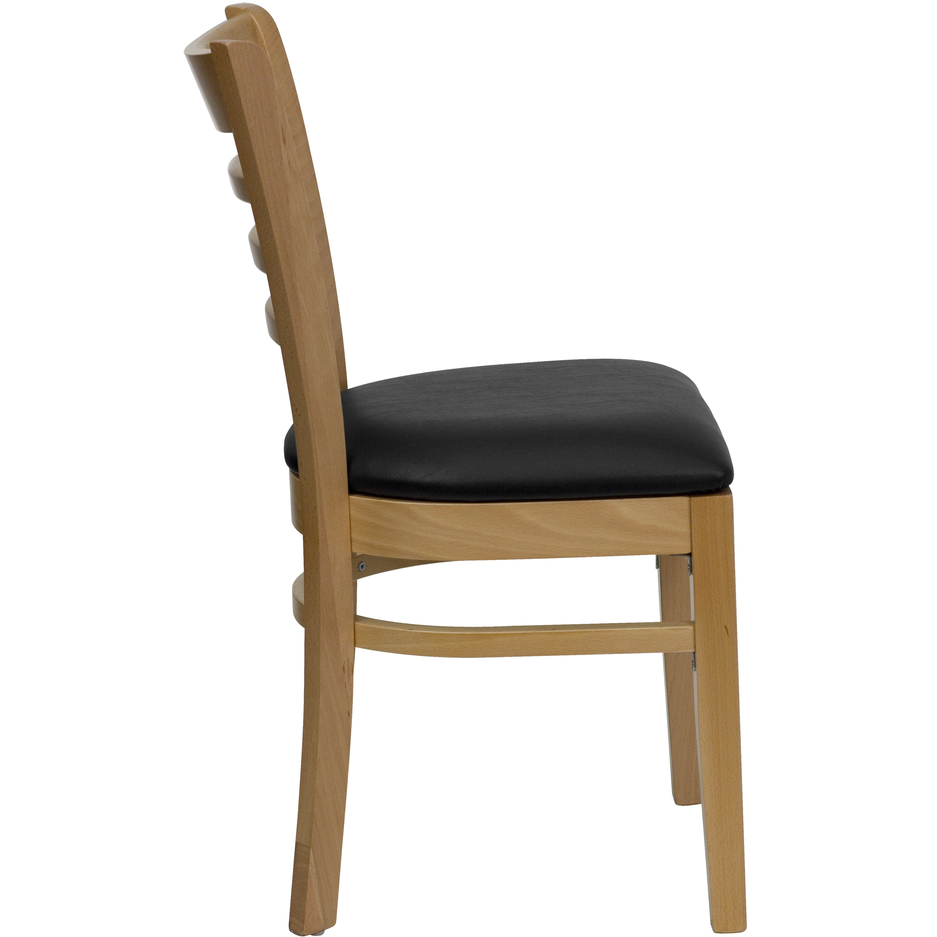 73369186635c Shop Spencer Natural Wood Black Upholstered Classic Dining Chairs - Free  Shipping Today - Overstock - 14419340