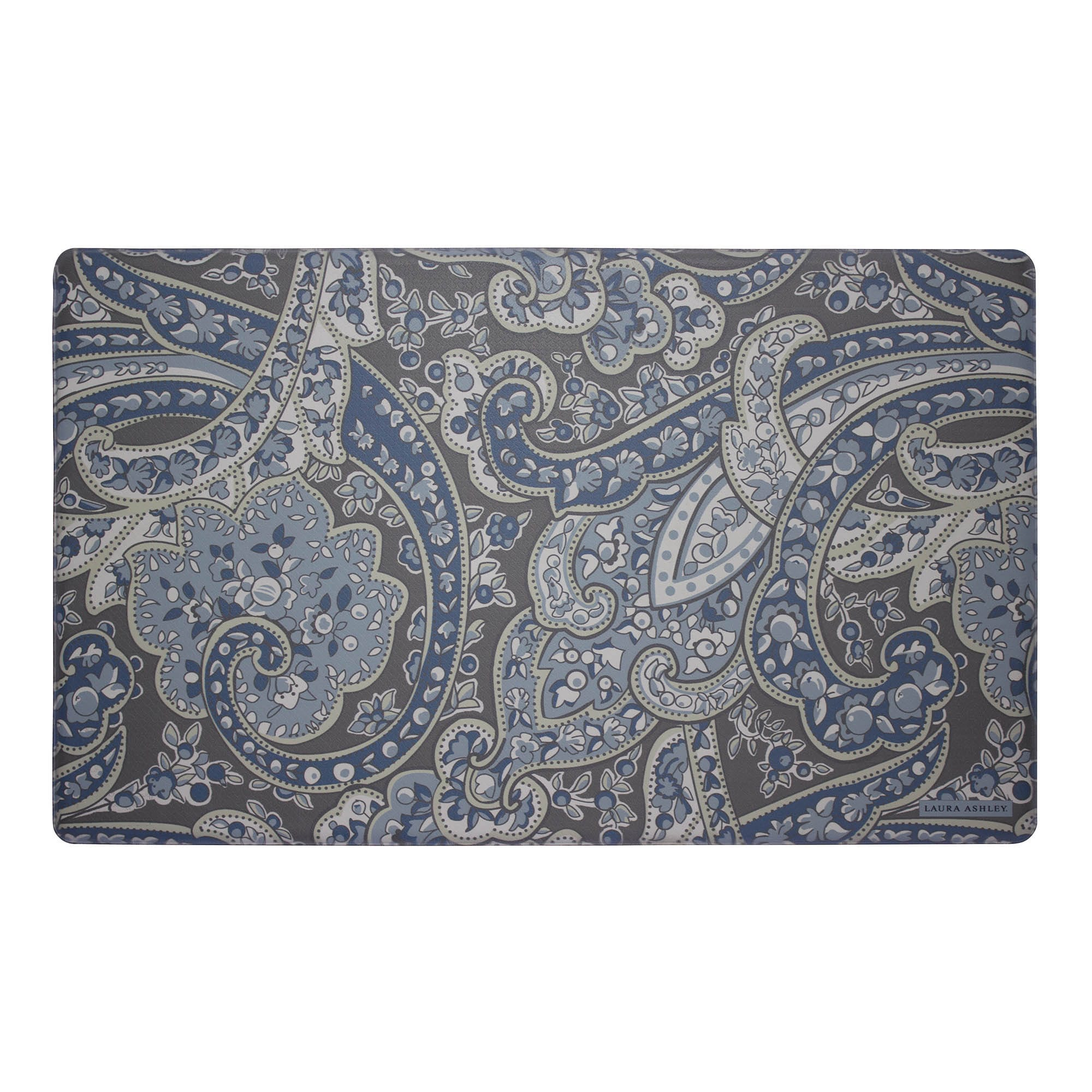shop laura ashley vanessa anti fatigue gelness kitchen mat 20 in x rh overstock com