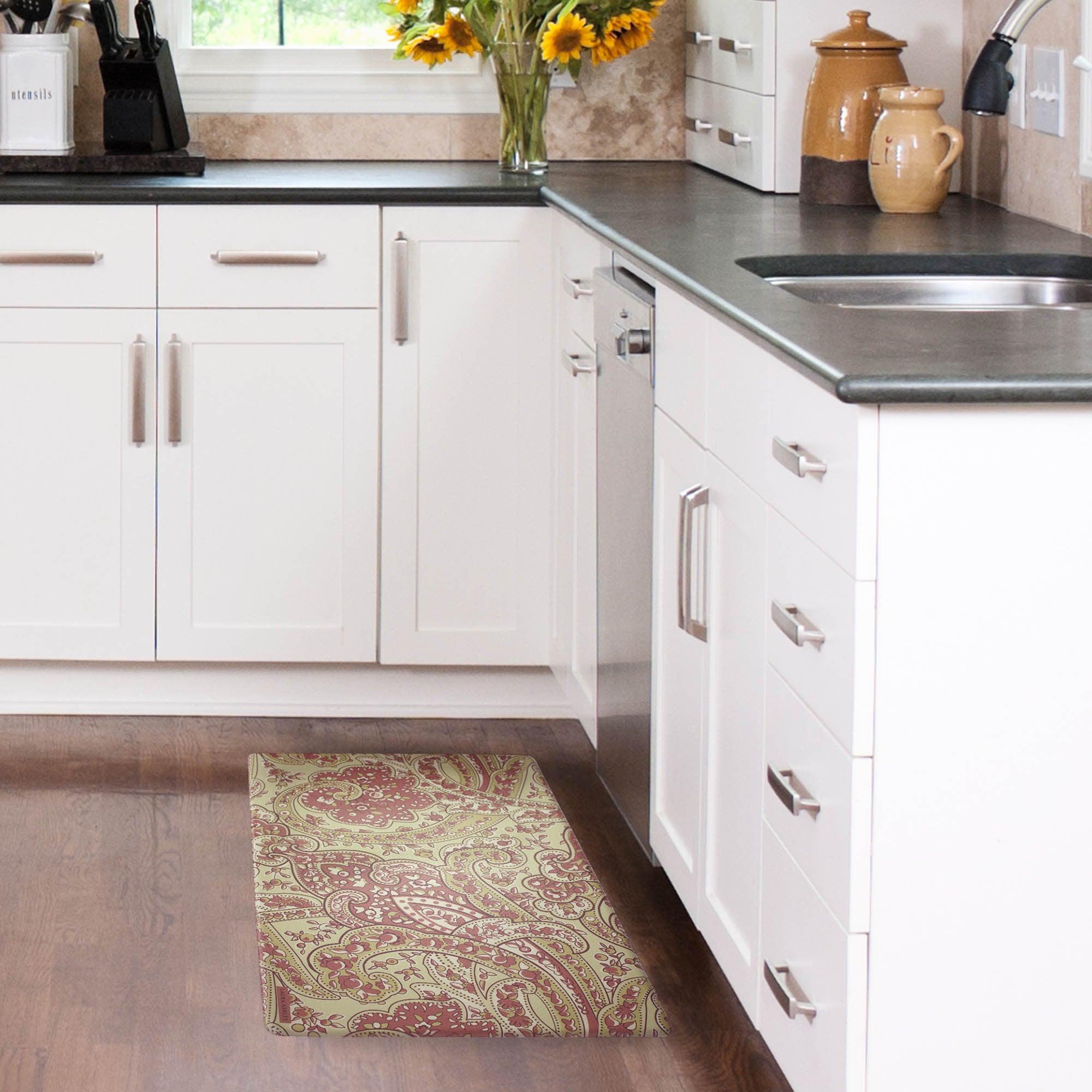 Shop Laura Ashley Vanessa Anti-fatigue Gelness Kitchen Mat (20 in. x ...