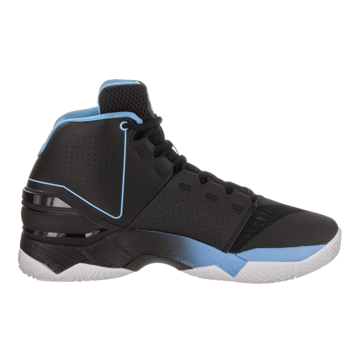 97d63d9af577 Shop Under Armour Men s Longshot Black Synthetic Leather Basketball Shoe - Free  Shipping Today - Overstock - 14427976