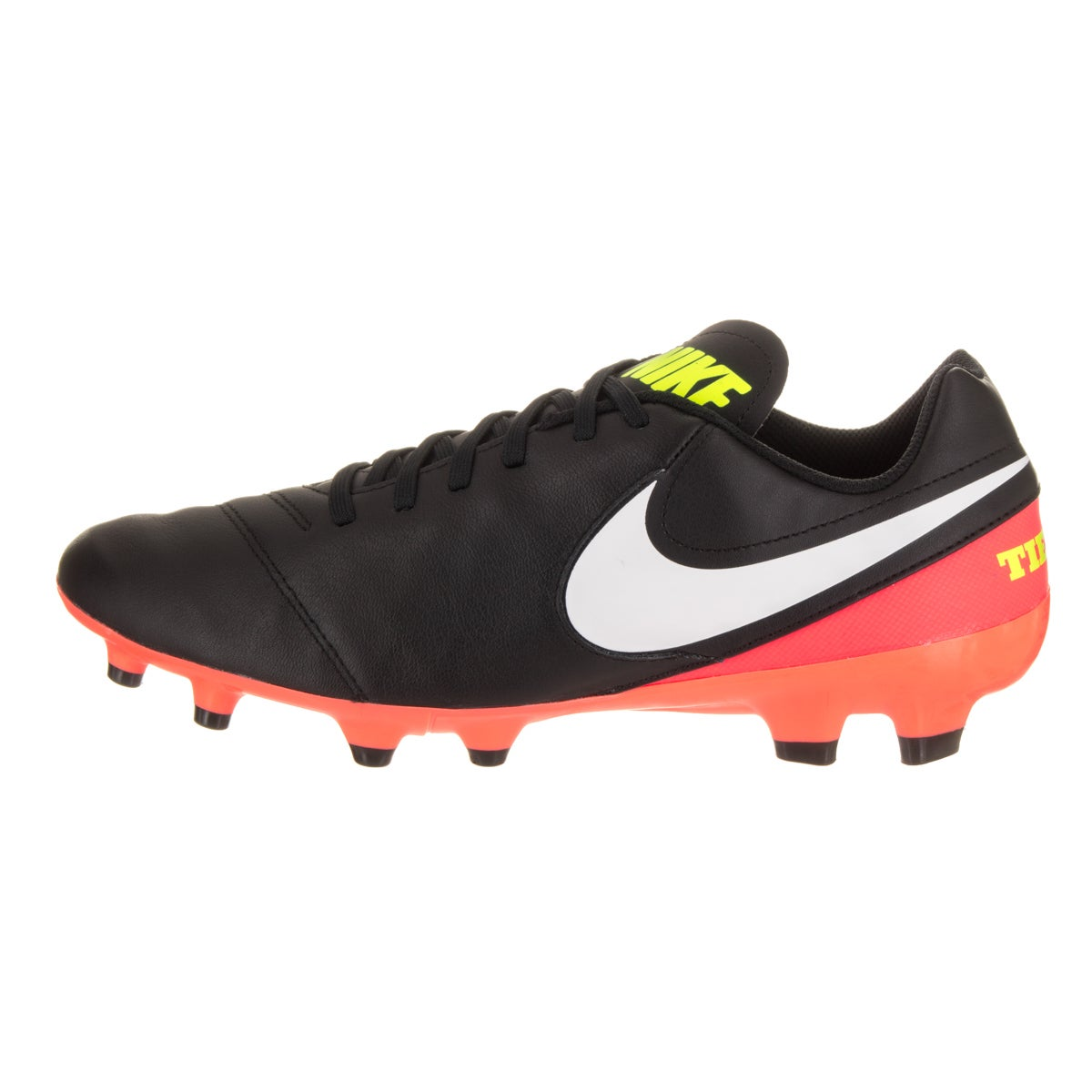 sports shoes fd2cf 3a212 Shop Nike Mens Tiempo Genio II Leather FG Soccer Cleat - Free Shipping  Today - Overstock.com - 14428606