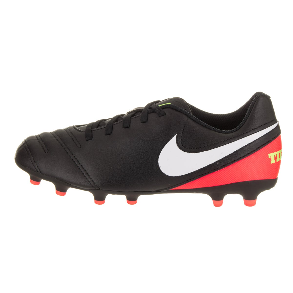 52f67c5b5 Shop Nike Kids JR Tiempo Rio III FG Soccer Cleat - Free Shipping On Orders  Over  45 - Overstock - 14428732