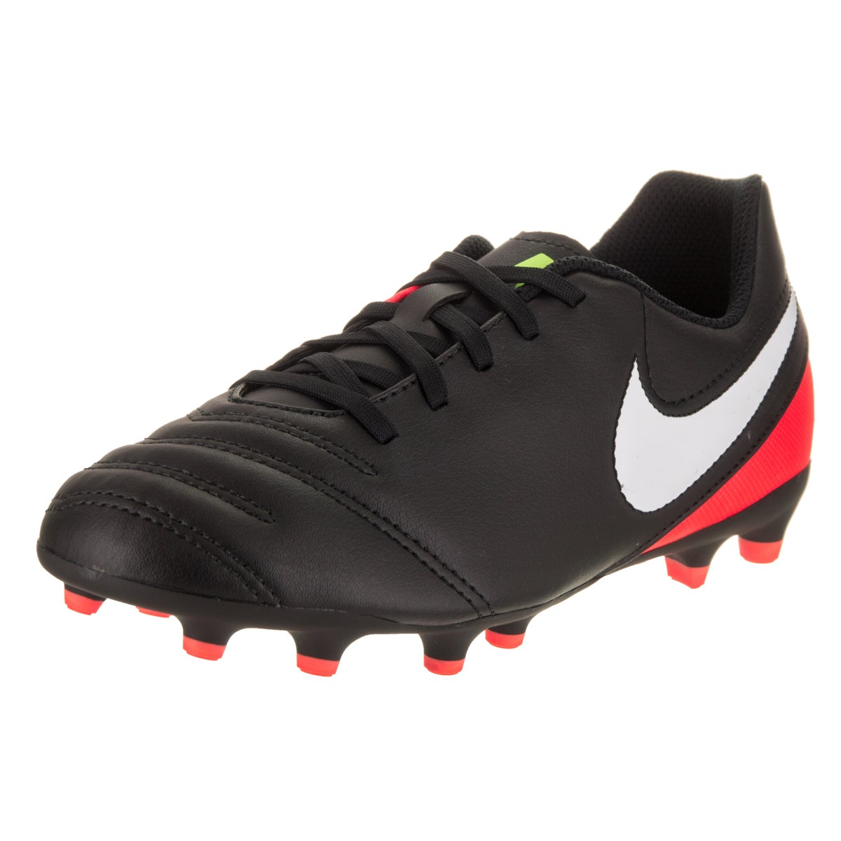 5b48a18f4 Shop Nike Kids JR Tiempo Rio III FG Soccer Cleat - Free Shipping On Orders  Over  45 - Overstock - 14428732